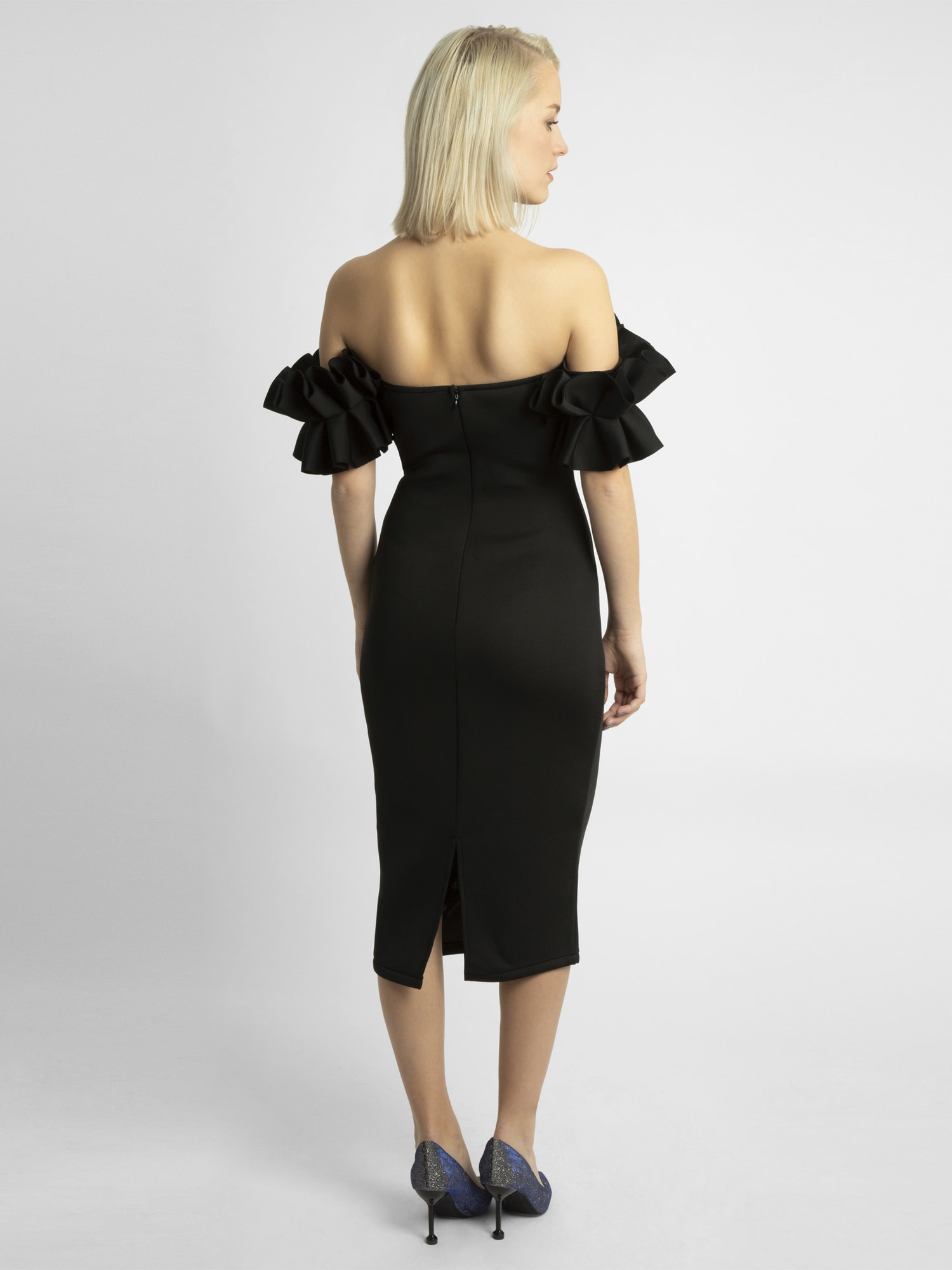 apart - Cocktailkleid mit Volants