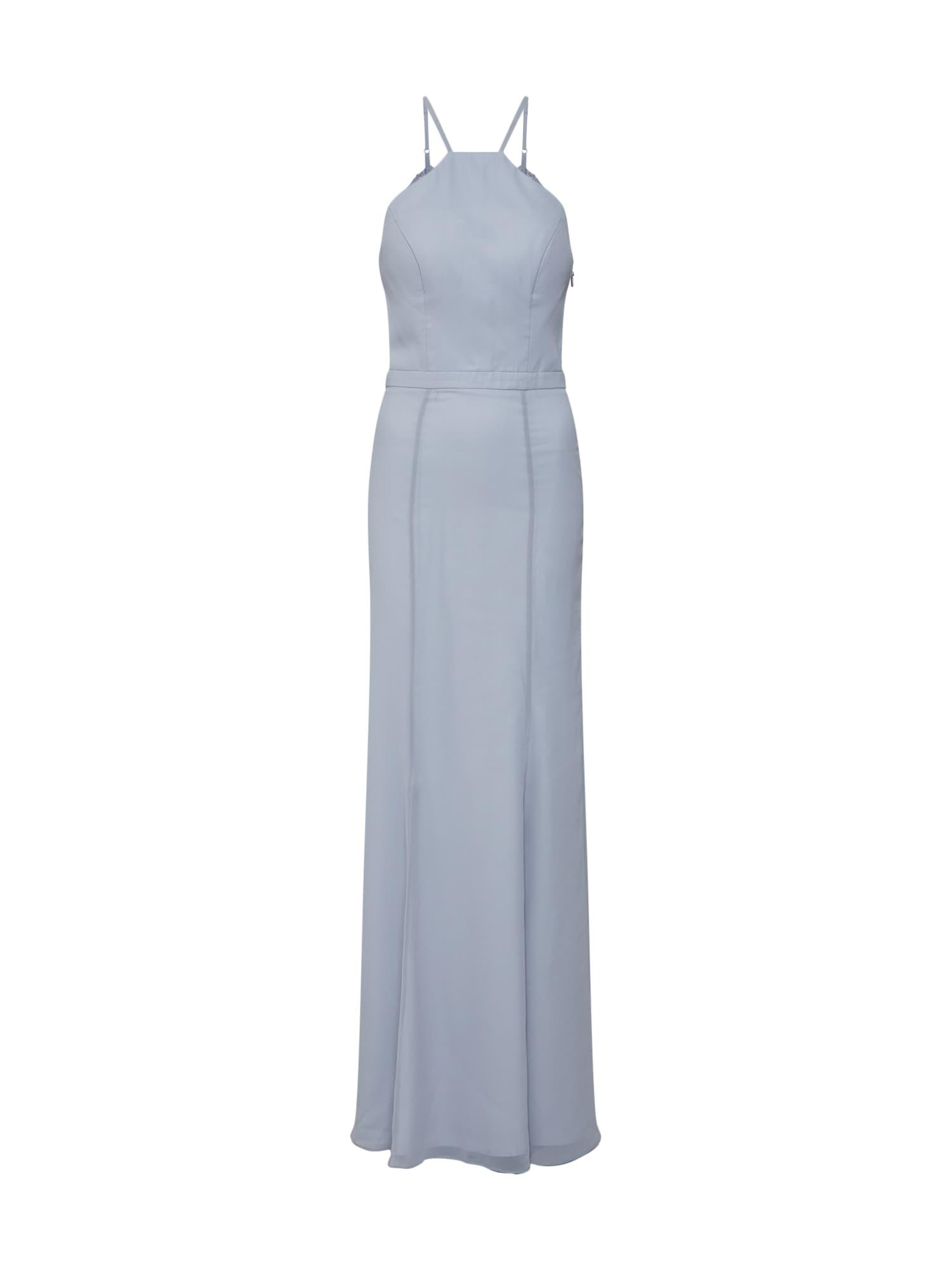 Společenské šaty kouřově modrá Chi Chi London