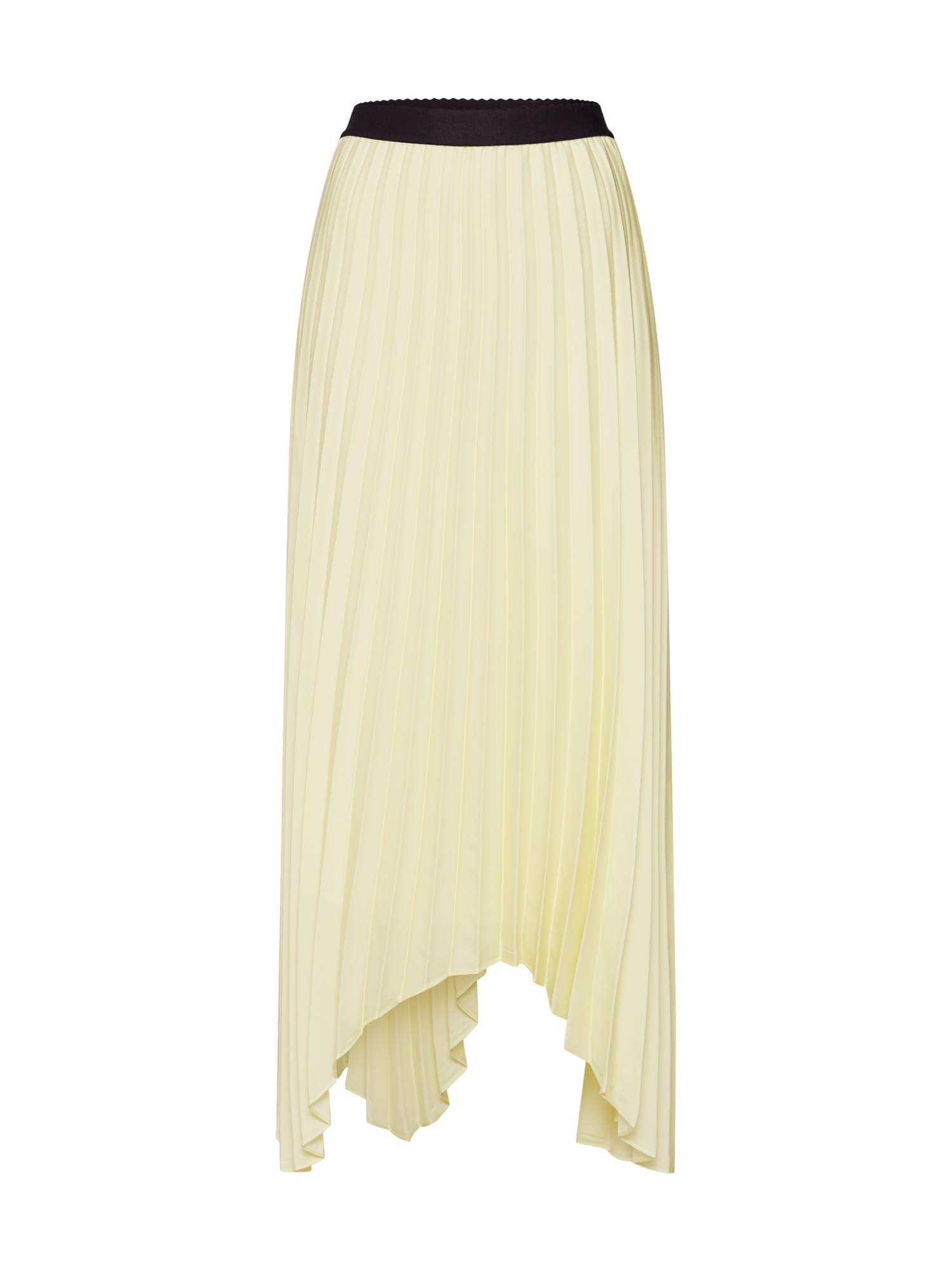 Sukně světle žlutá LAUREL