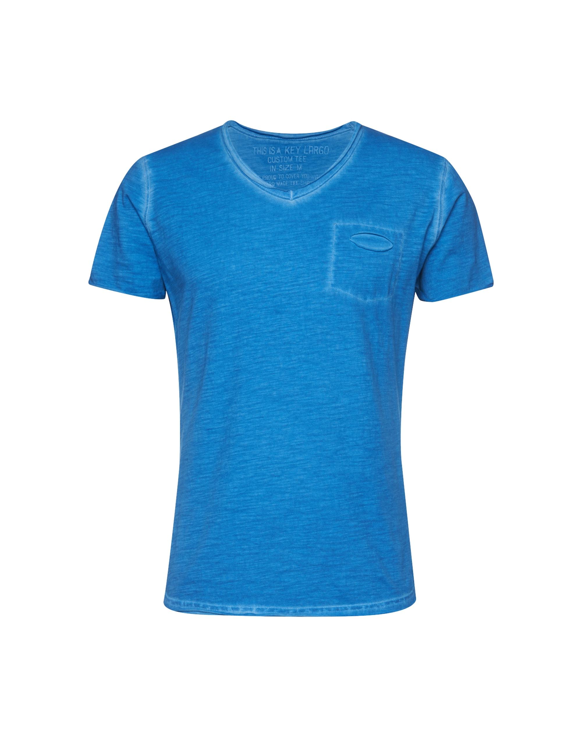 key largo - T-Shirt ´Soda´ mit V-Ausschnitt