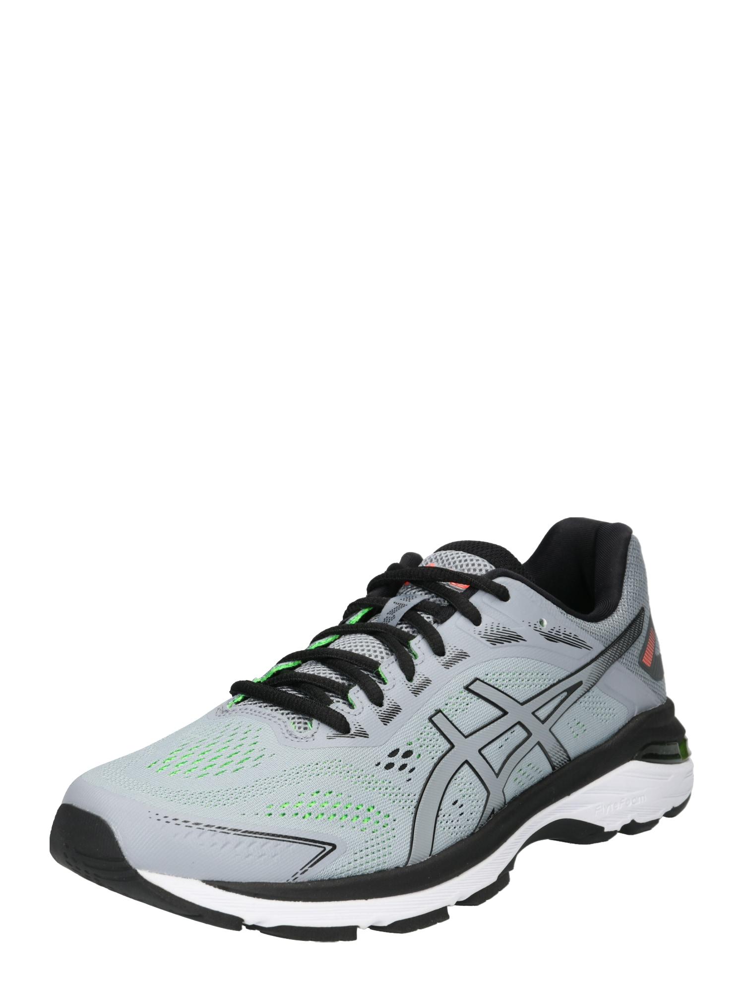 Běžecká obuv Gt-2000 7 šedá svítivě zelená černá ASICS
