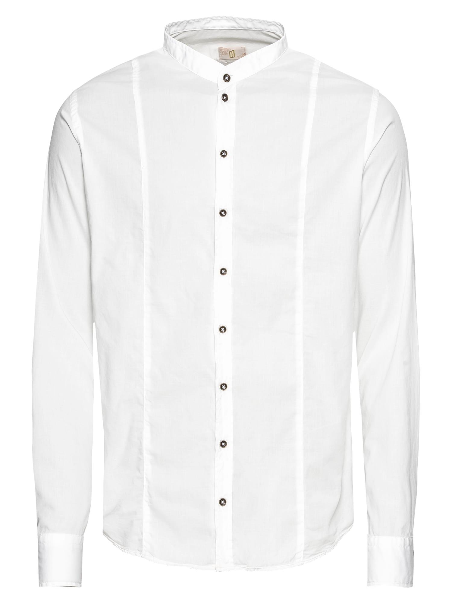 Společenská košile Rene bílá Q1