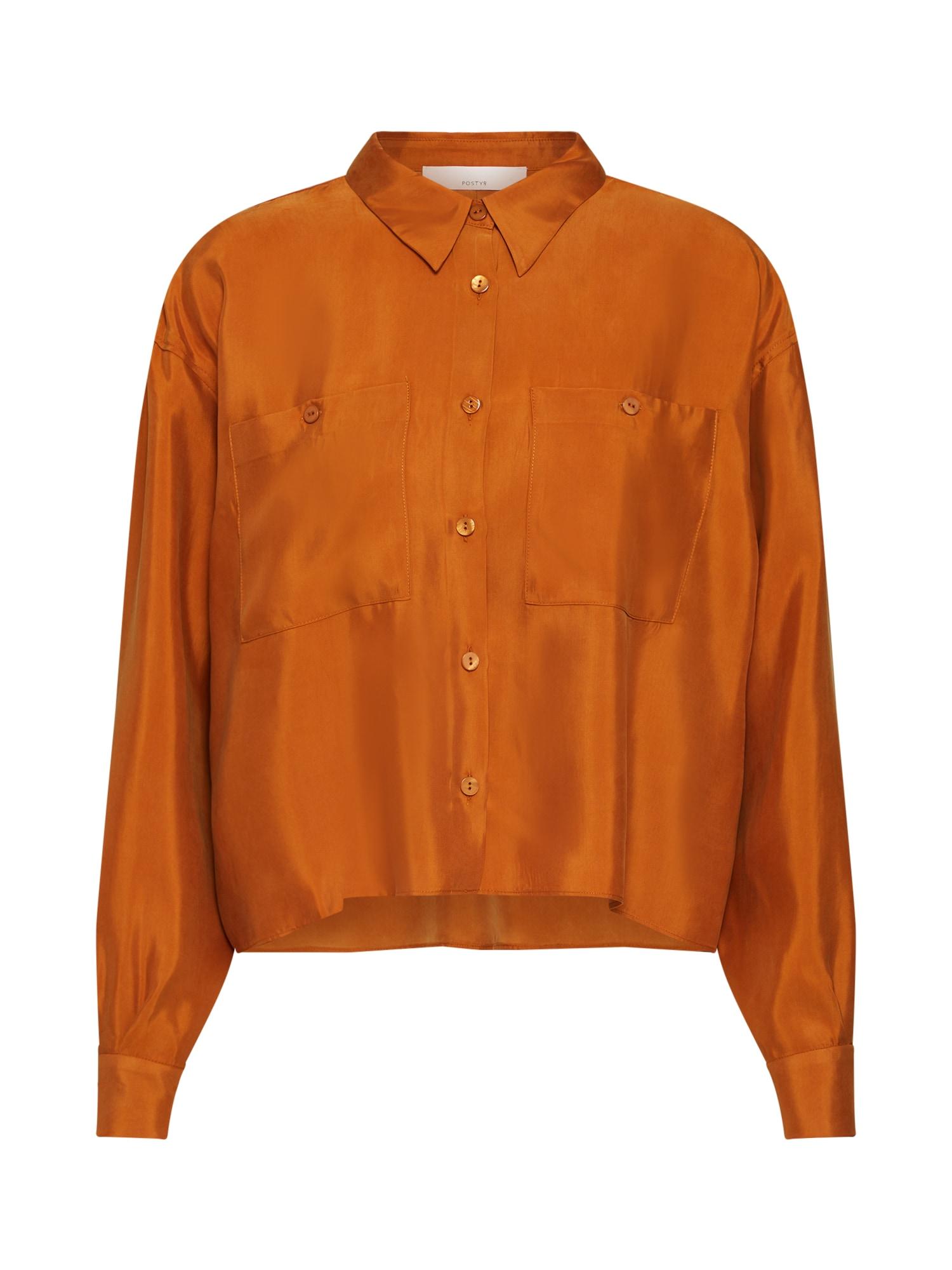 Halenka oranžová POSTYR