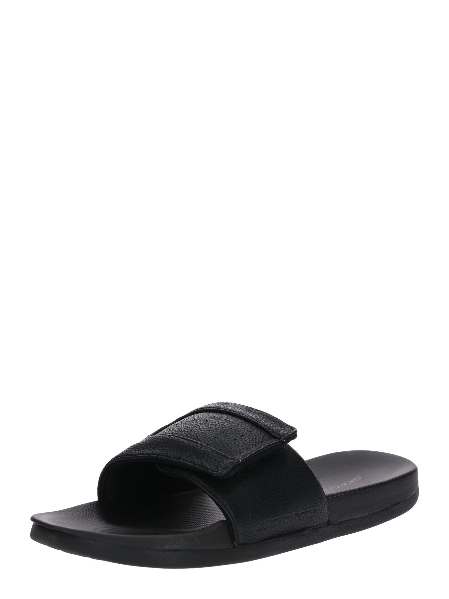 Pantofle Gambix - Rosney černá SKECHERS