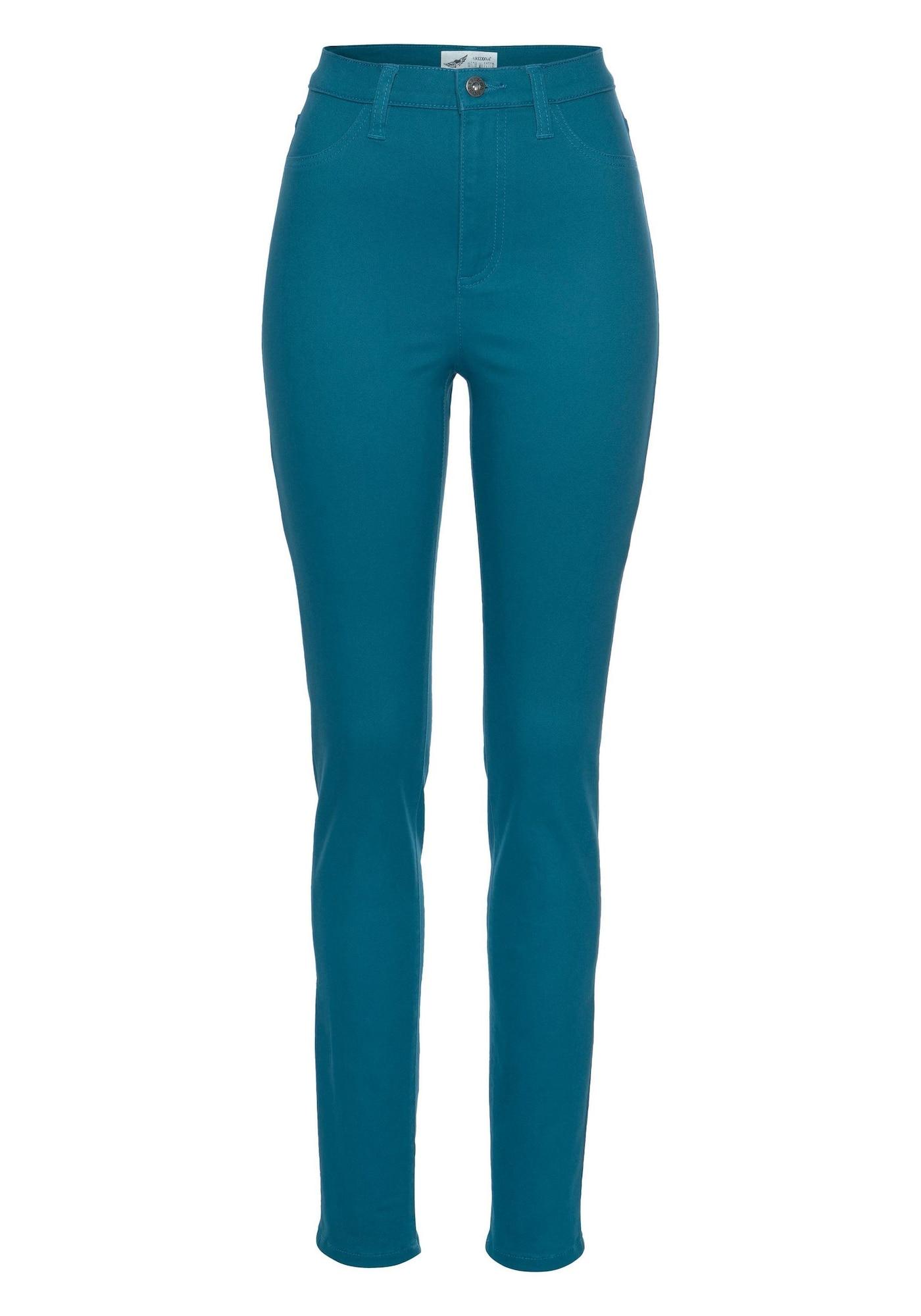 Jeansjeggings 'in Coloured-Denim' | Bekleidung > Jeans > Jeggings | Petrol | ARIZONA