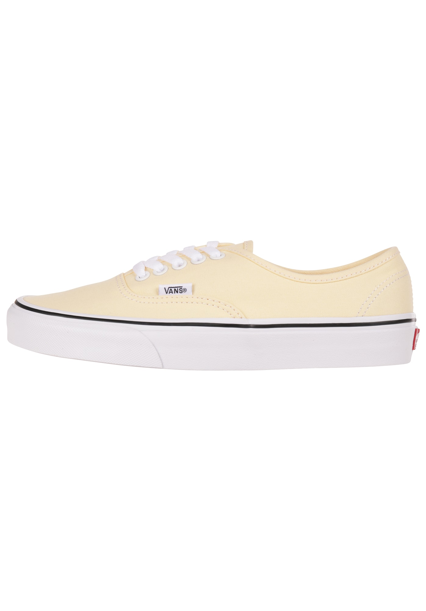 VANS, Dames Sneakers laag 'Authentic', lichtgeel