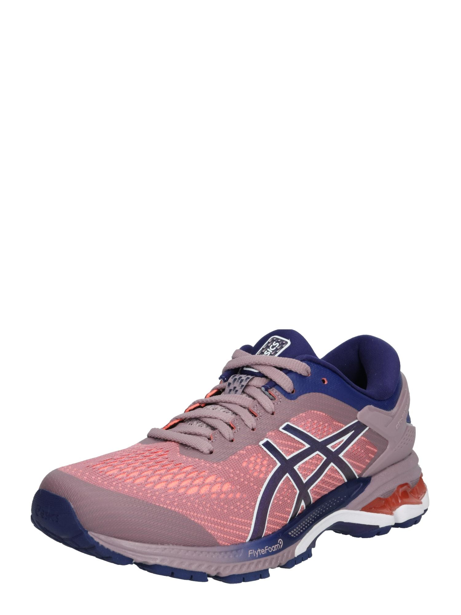 Běžecká obuv GEL-KAYANO 26 tmavě modrá šeříková oranžová ASICS