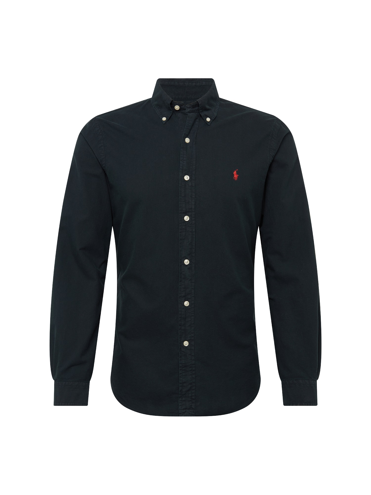 Košile SL BD PPC SP-LONG SLEEVE-SPORT SHIRT černá POLO RALPH LAUREN