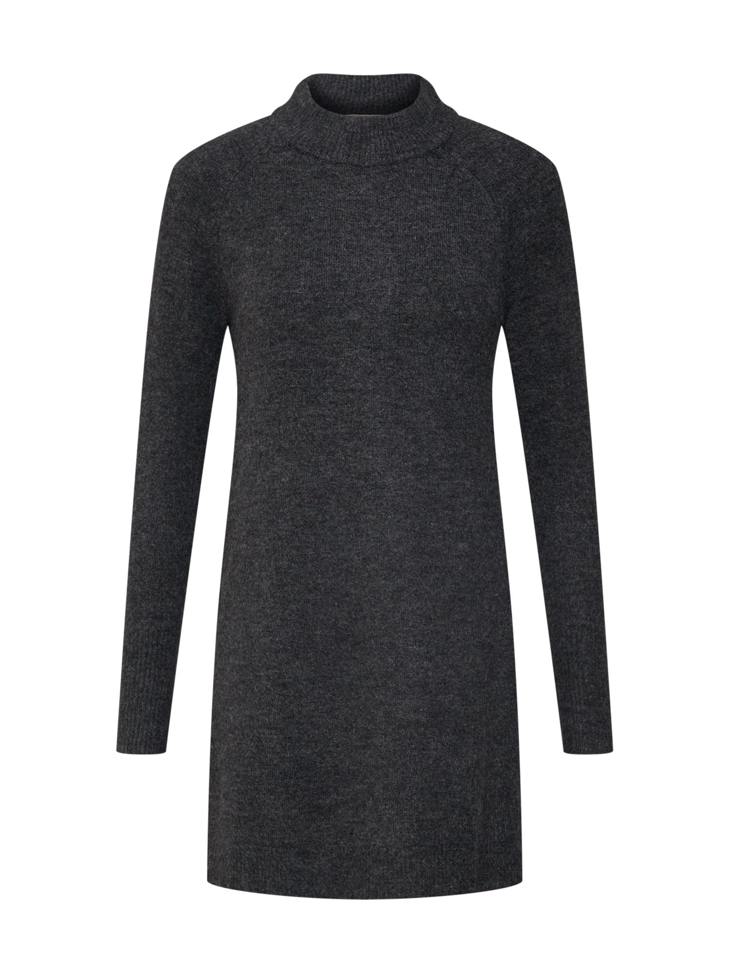 Úpletové šaty tmavě šedá TOM TAILOR DENIM