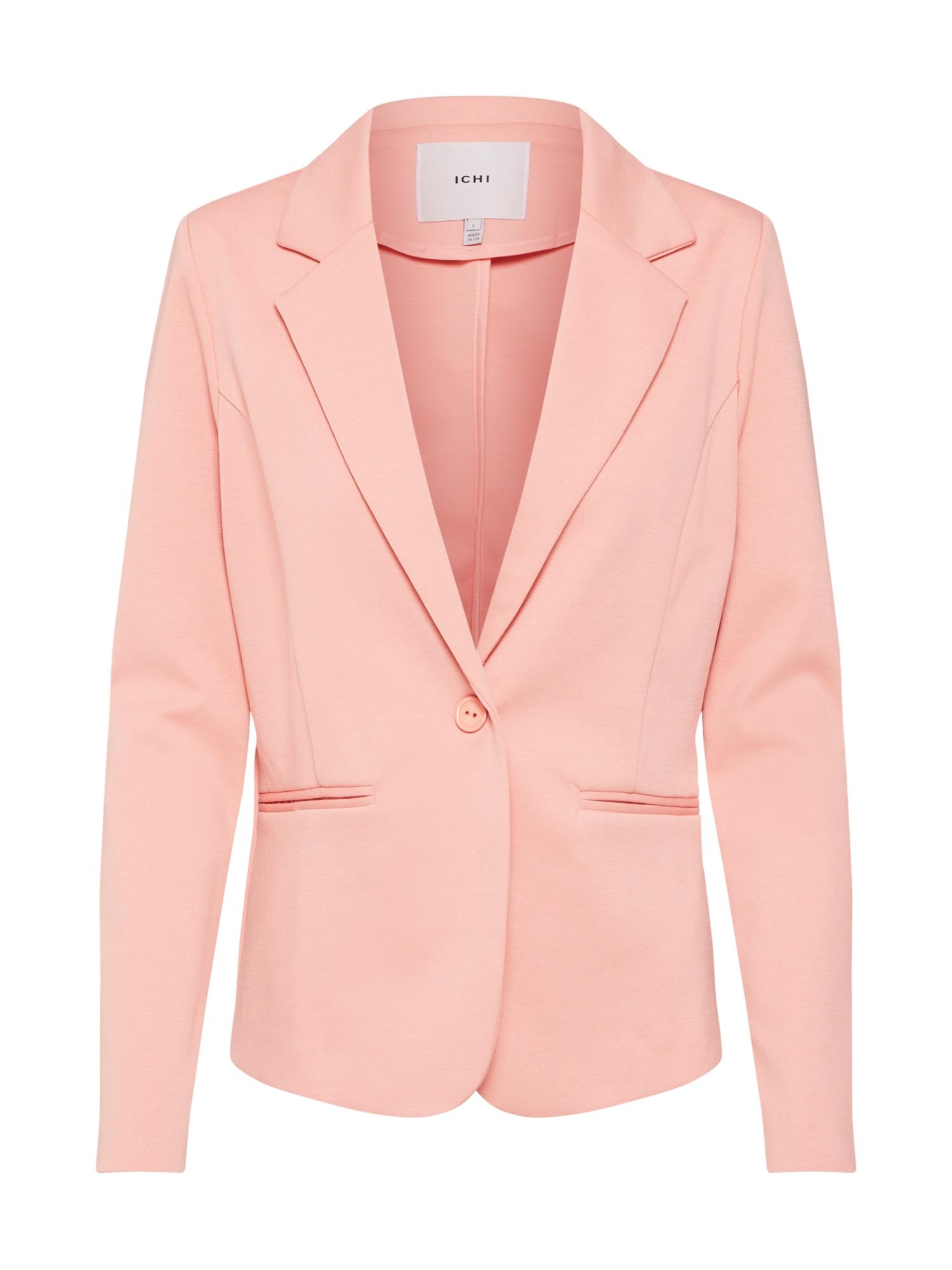 Sweat-Blazer 'Kate' | Bekleidung > Blazer > Sweatblazer | Koralle | ICHI
