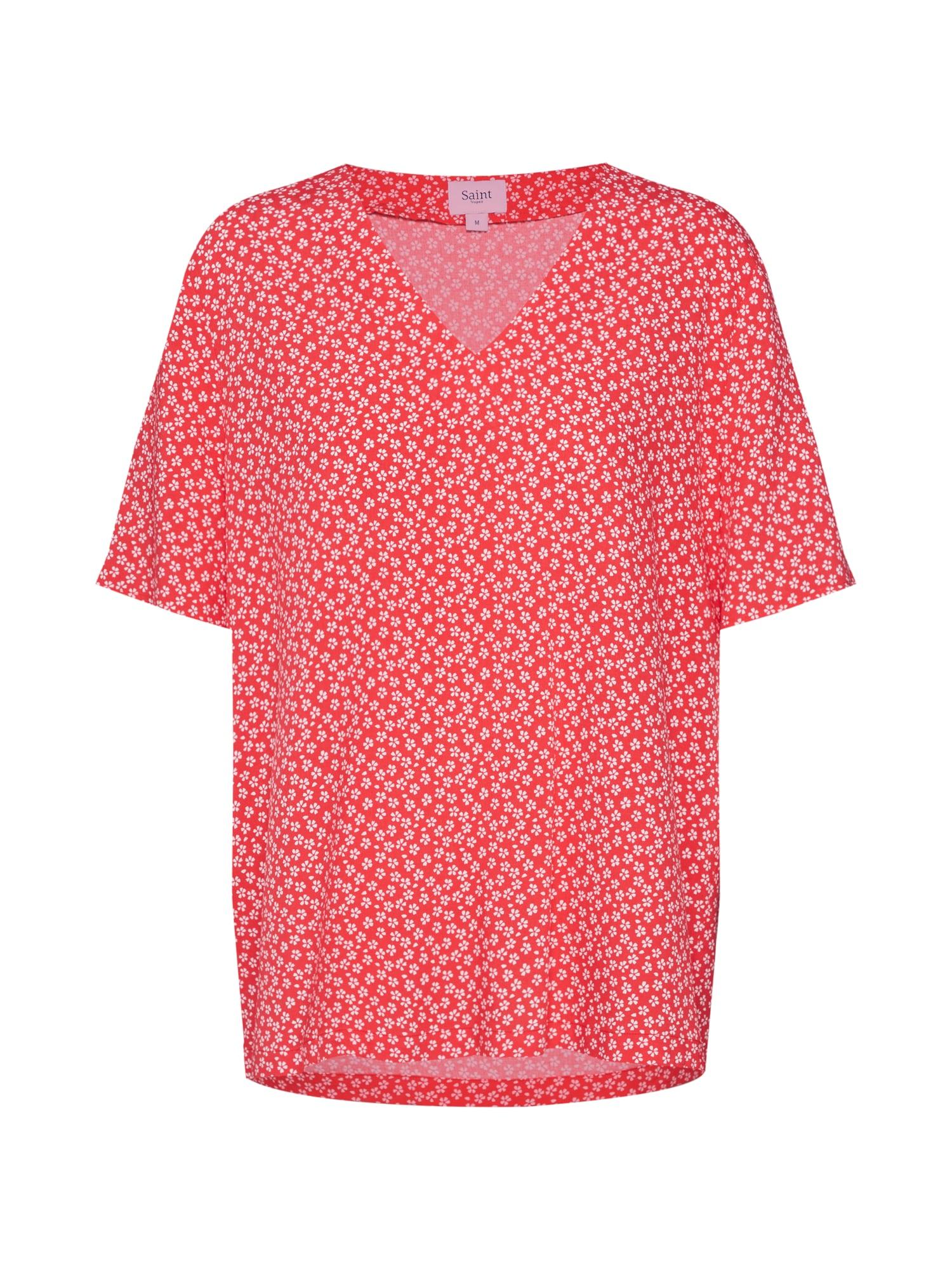 Tričko červená bílá SAINT TROPEZ