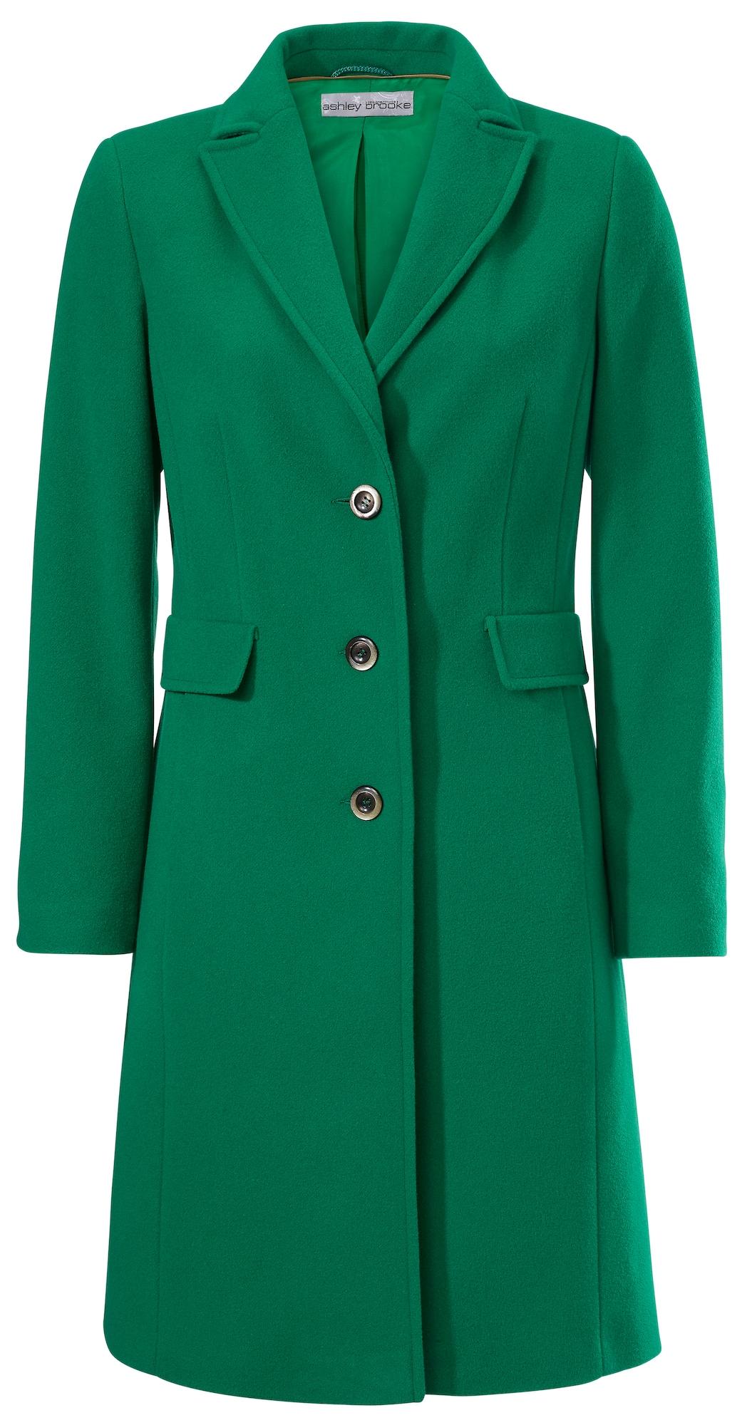 Přechodný kabát zelená Heine