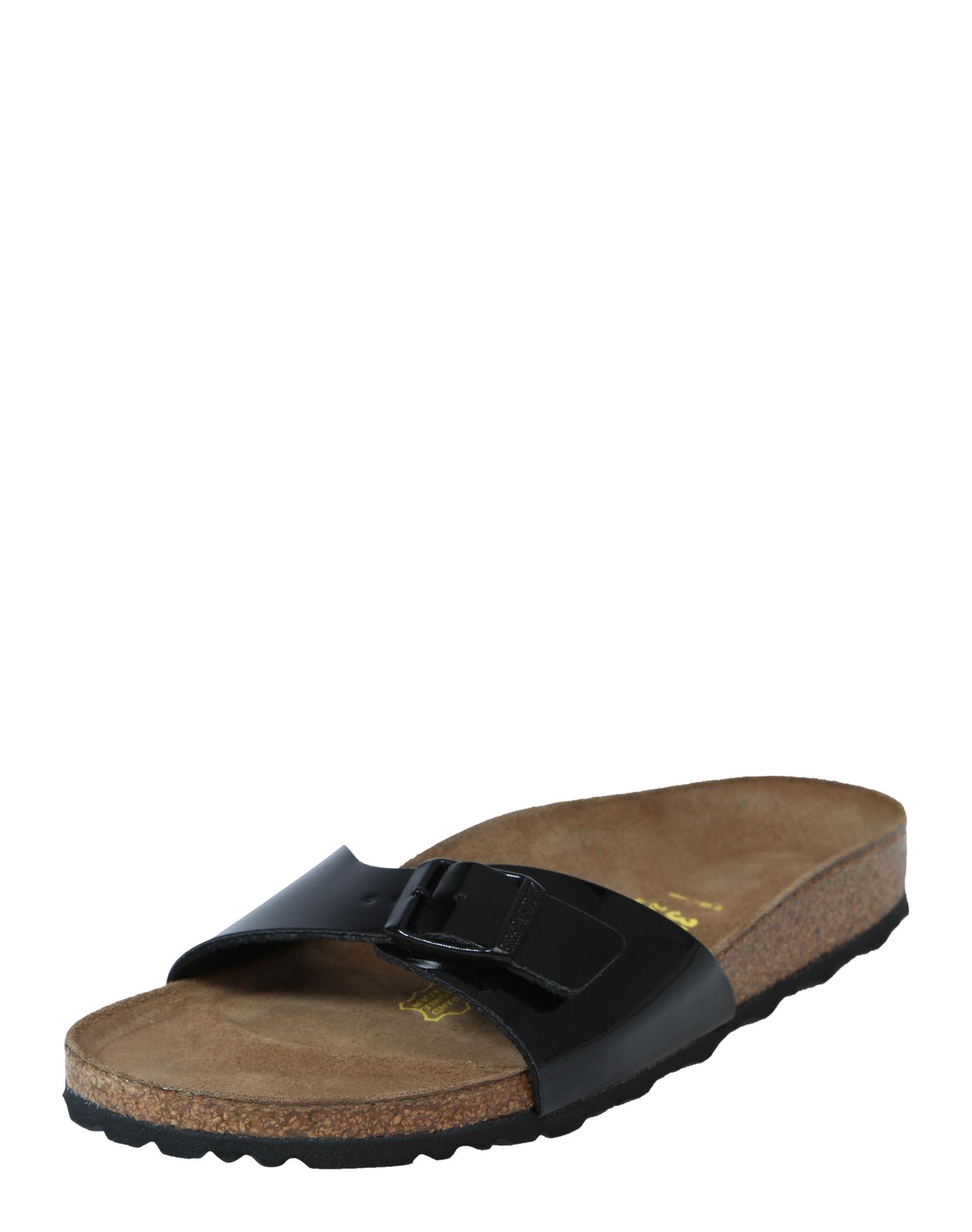 Pantofle Madrid černá BIRKENSTOCK