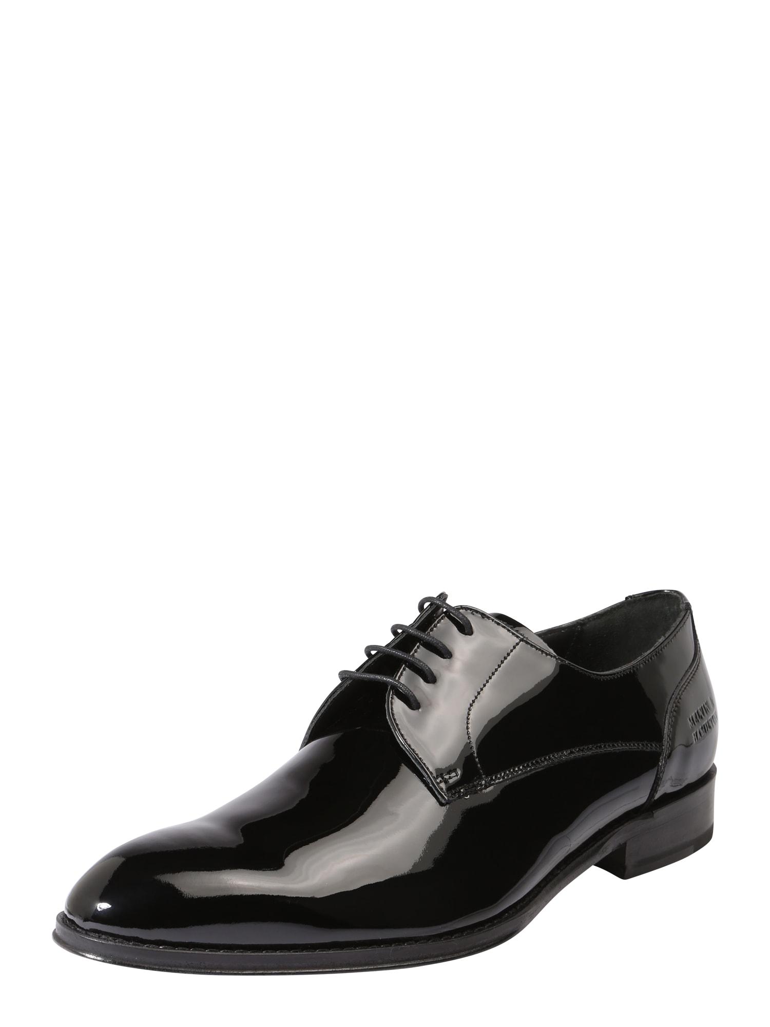 Šněrovací boty Kane 2 černá MELVIN & HAMILTON
