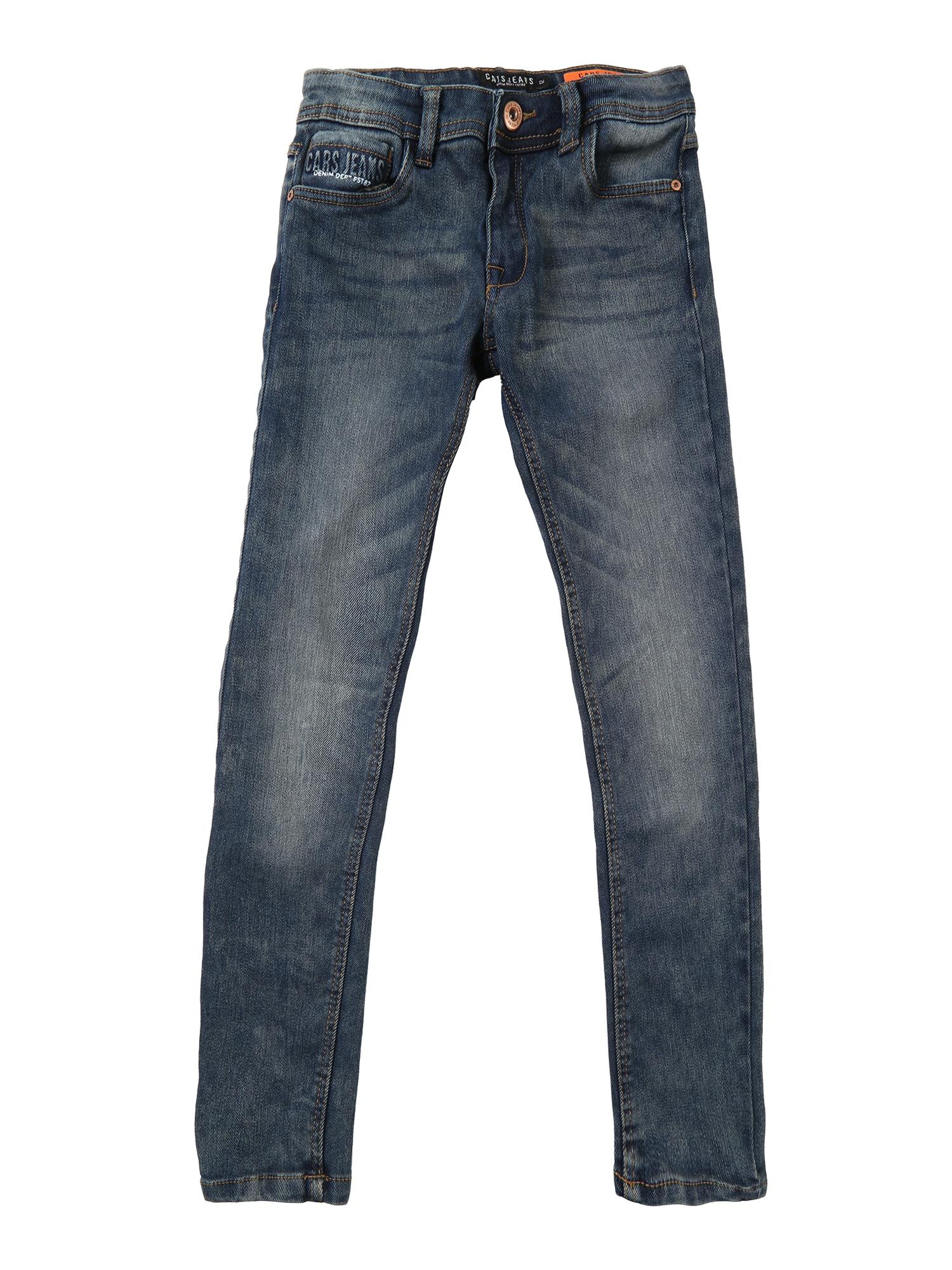 Džíny KIDS IRON tmavě modrá Cars Jeans