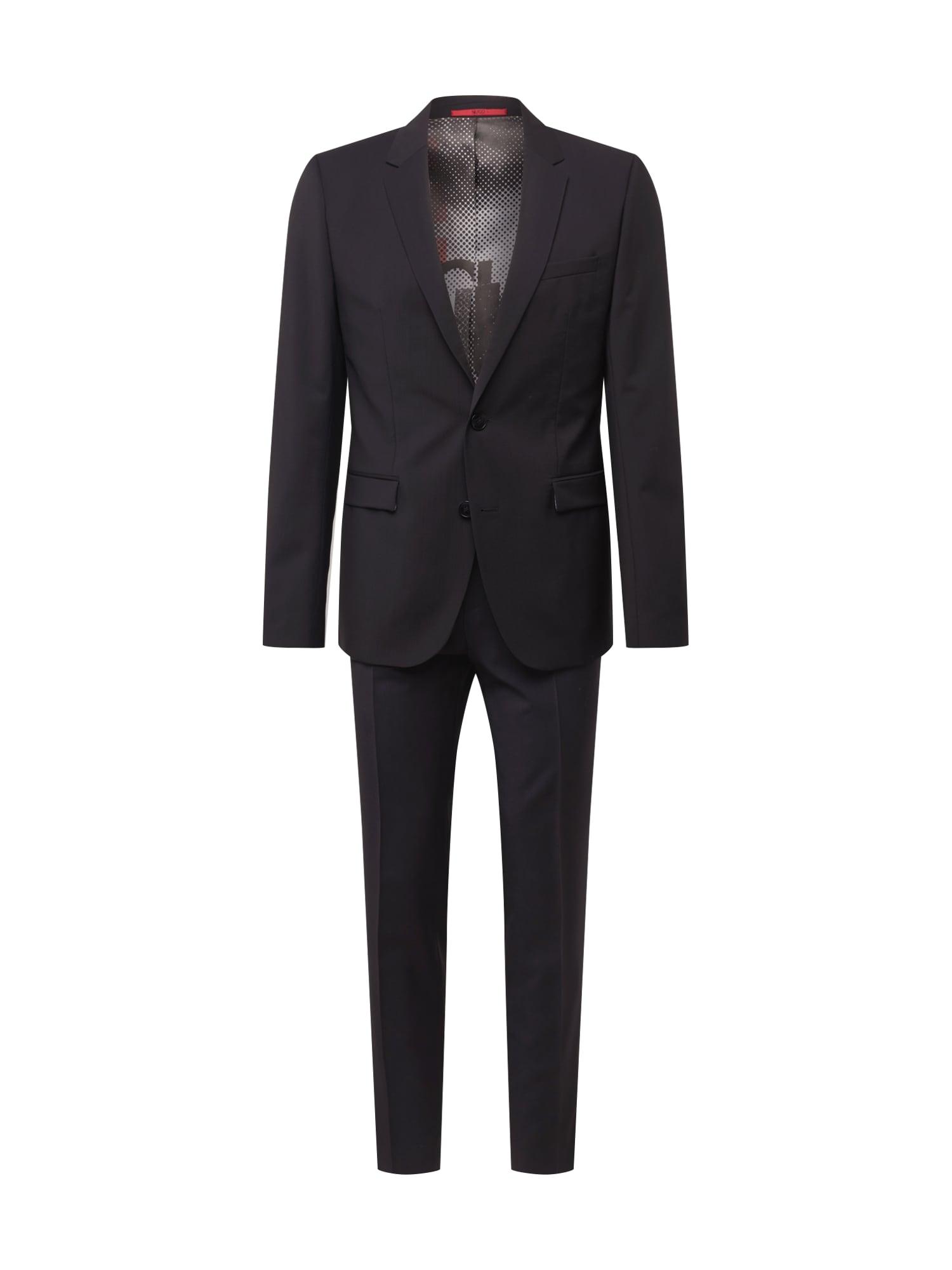 Oblek AstianHets černá HUGO