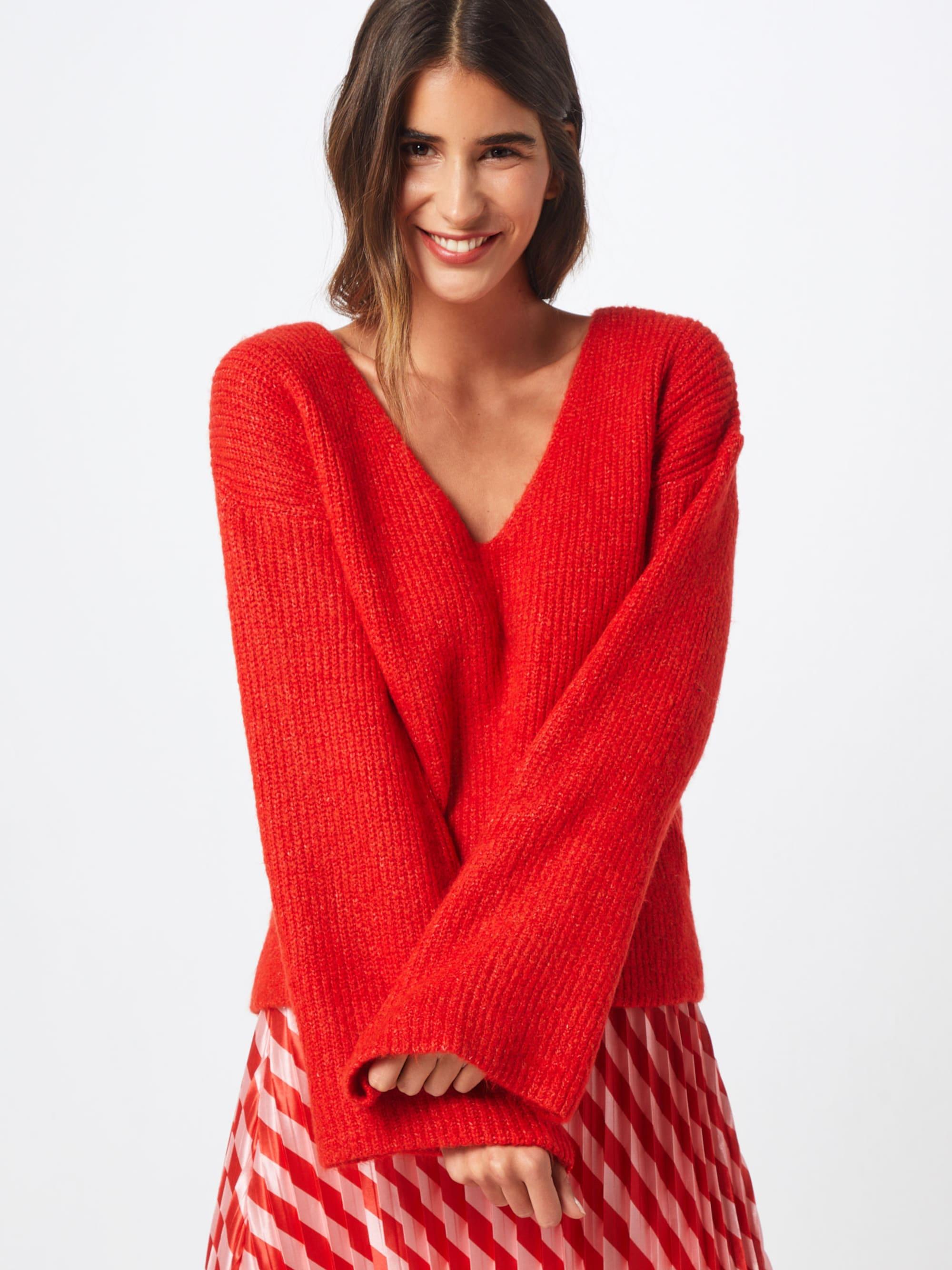 Trui 'V Front Knit Okt'