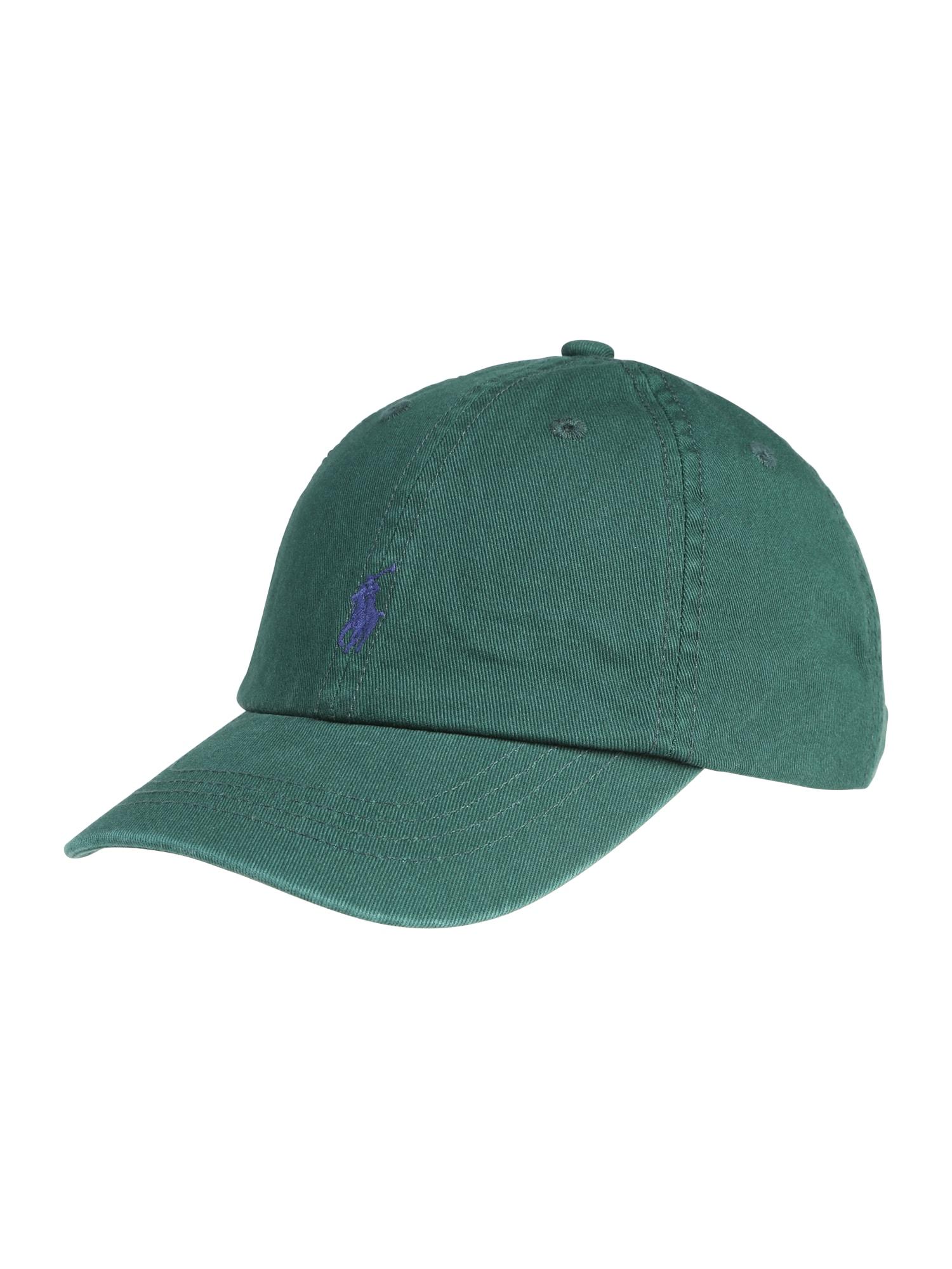 Klobouk CHINO TWILL-CLASSIC CAP-AC-HAT zelená POLO RALPH LAUREN