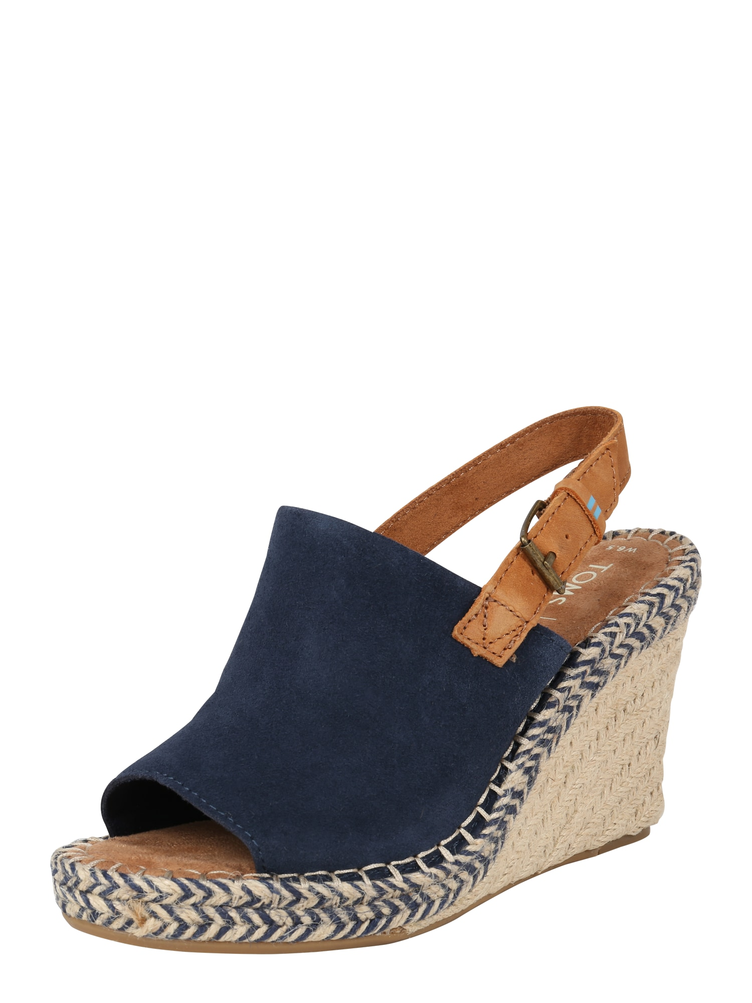 Páskové sandály MONICA béžová námořnická modř TOMS