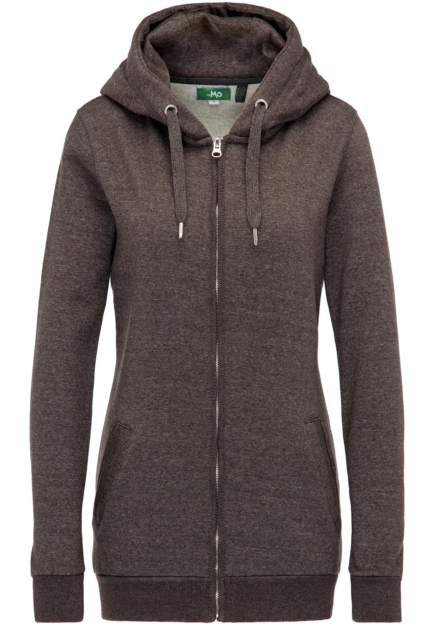 Sweatjacke | Bekleidung > Sweatshirts & -jacken > Sweatjacken | Anthrazit | MYMO