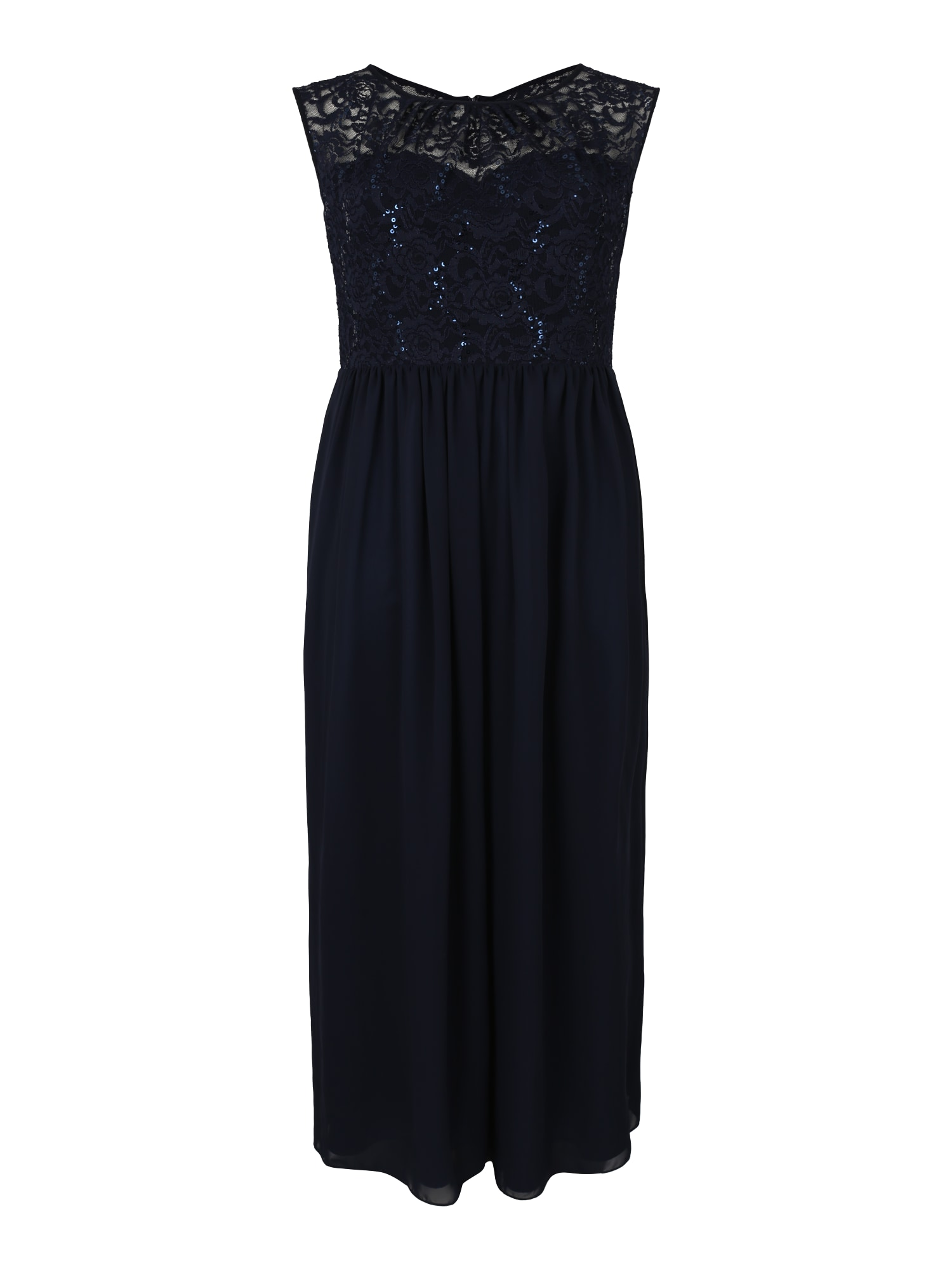 Společenské šaty námořnická modř SWING Curve