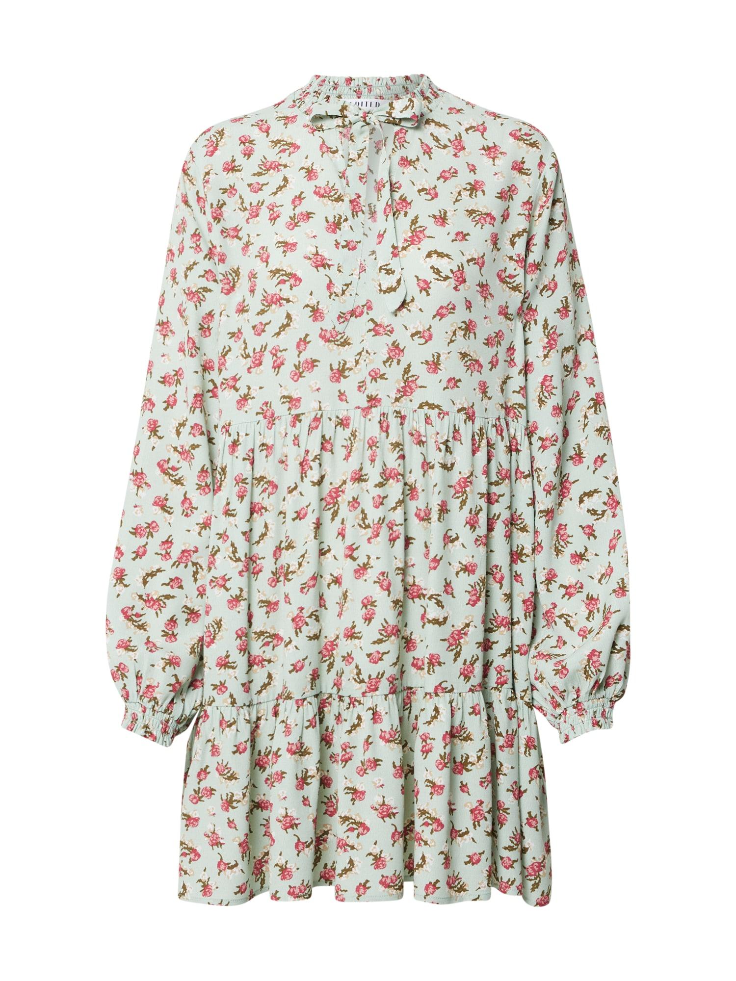 EDITED Šaty 'Heather'  mátová / tmavě růžová