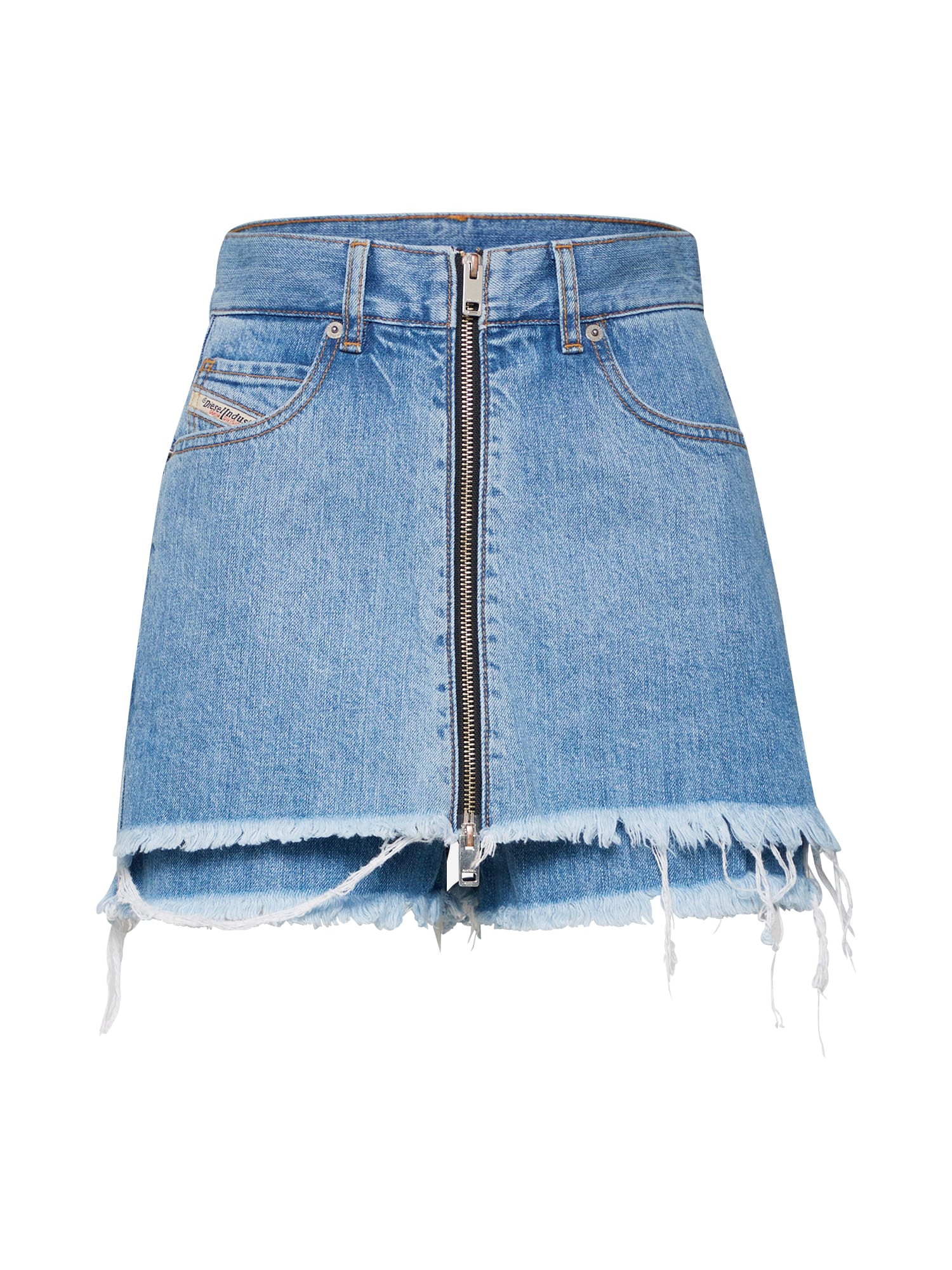 Džíny DE-Larzy Shorts modrá džínovina DIESEL