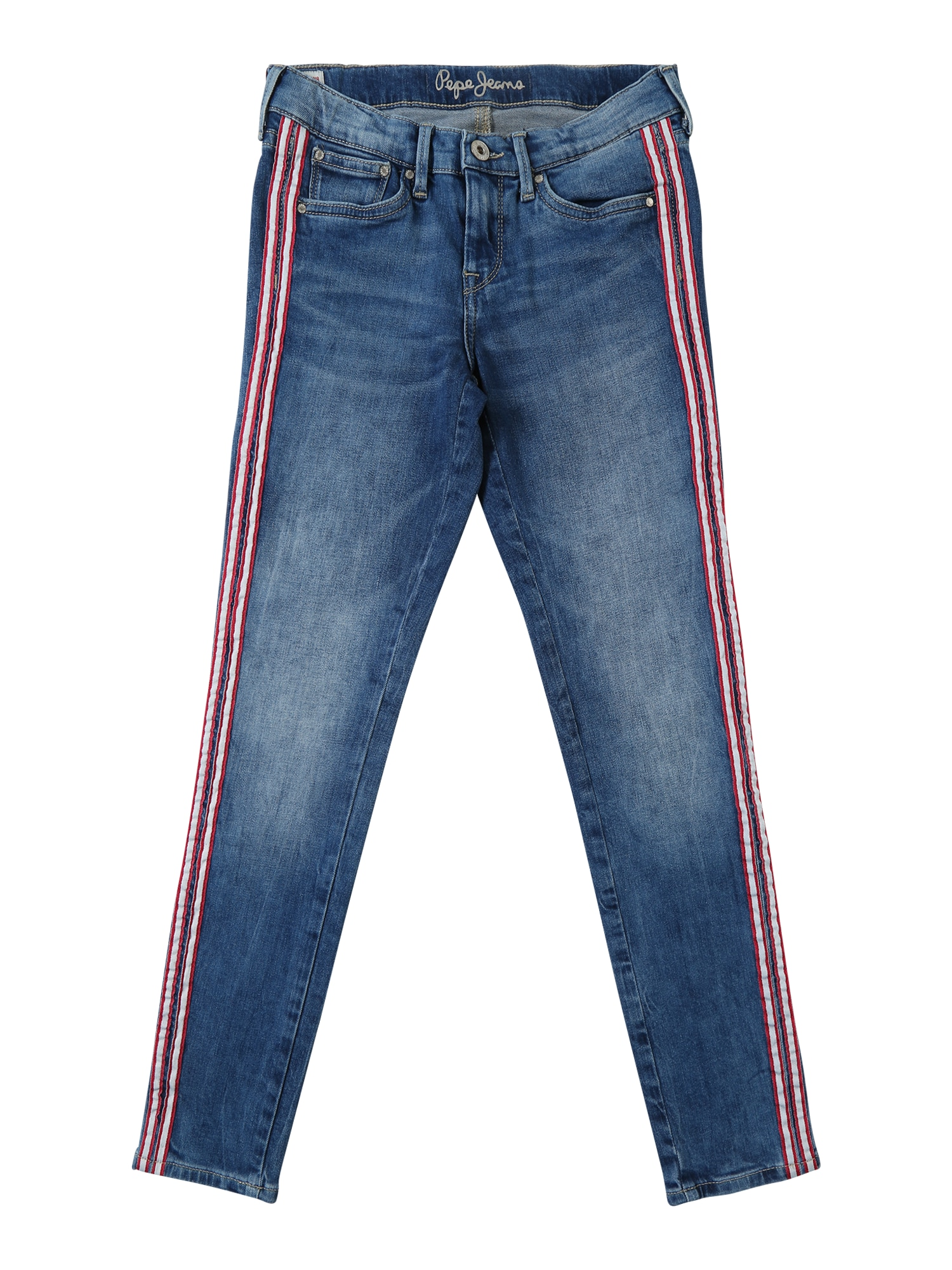 Džíny PIXLETTE RIBBON modrá džínovina Pepe Jeans