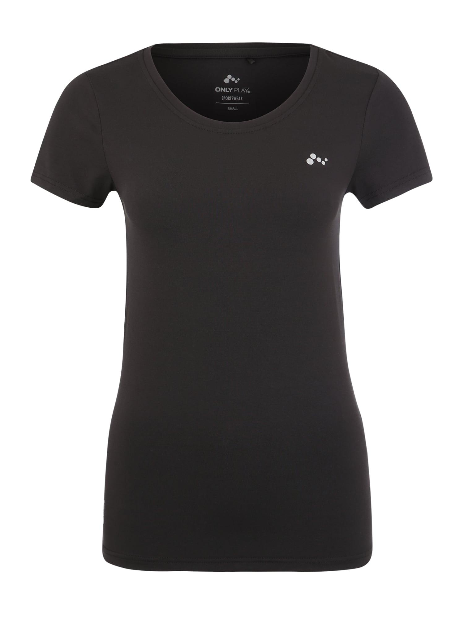 ONLY PLAY Funkčné tričko 'CLARISSA'  čierna