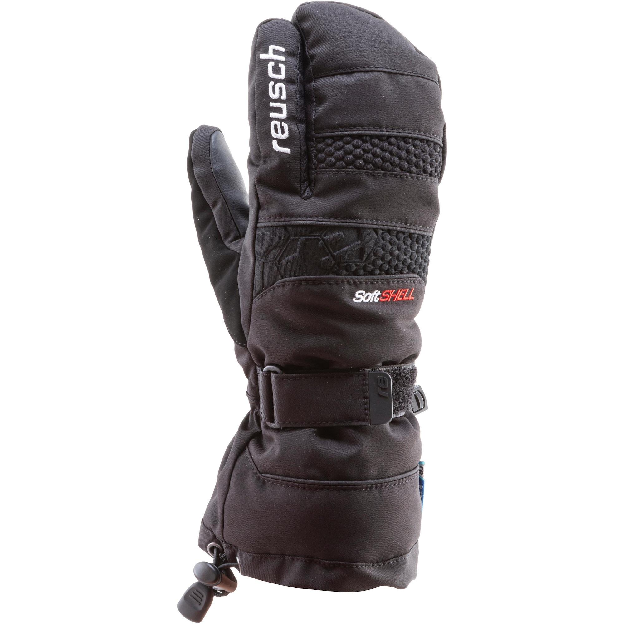 Fäustlinge 'Connor' | Accessoires > Handschuhe > Fäustlinge | Schwarz | REUSCH