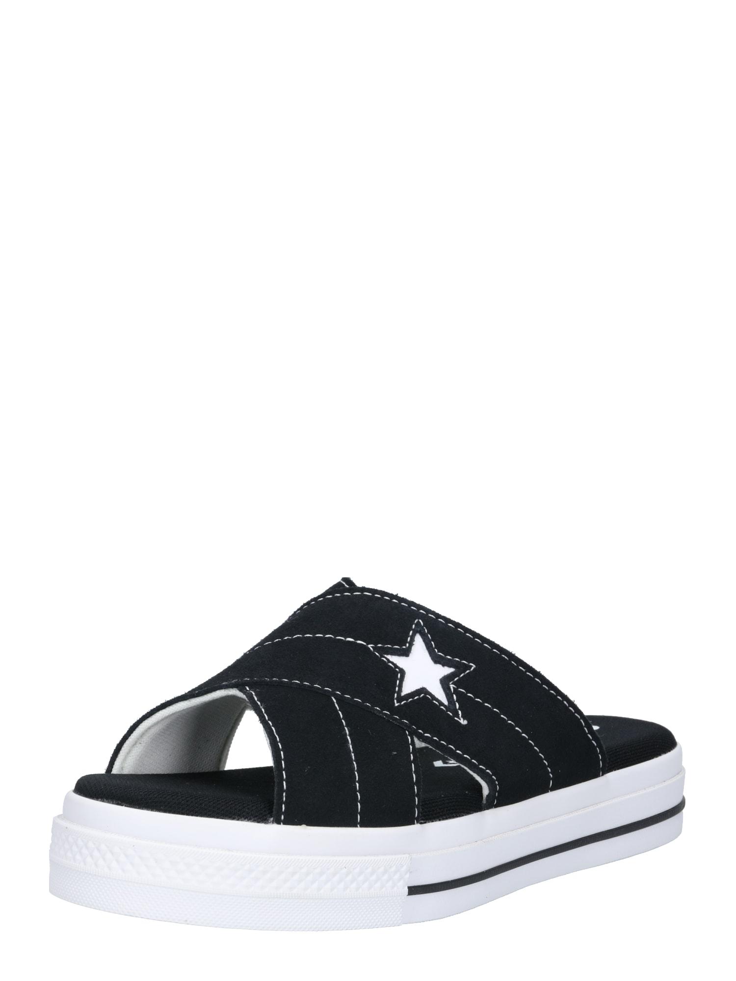 Pantofle One Star černá bílá CONVERSE