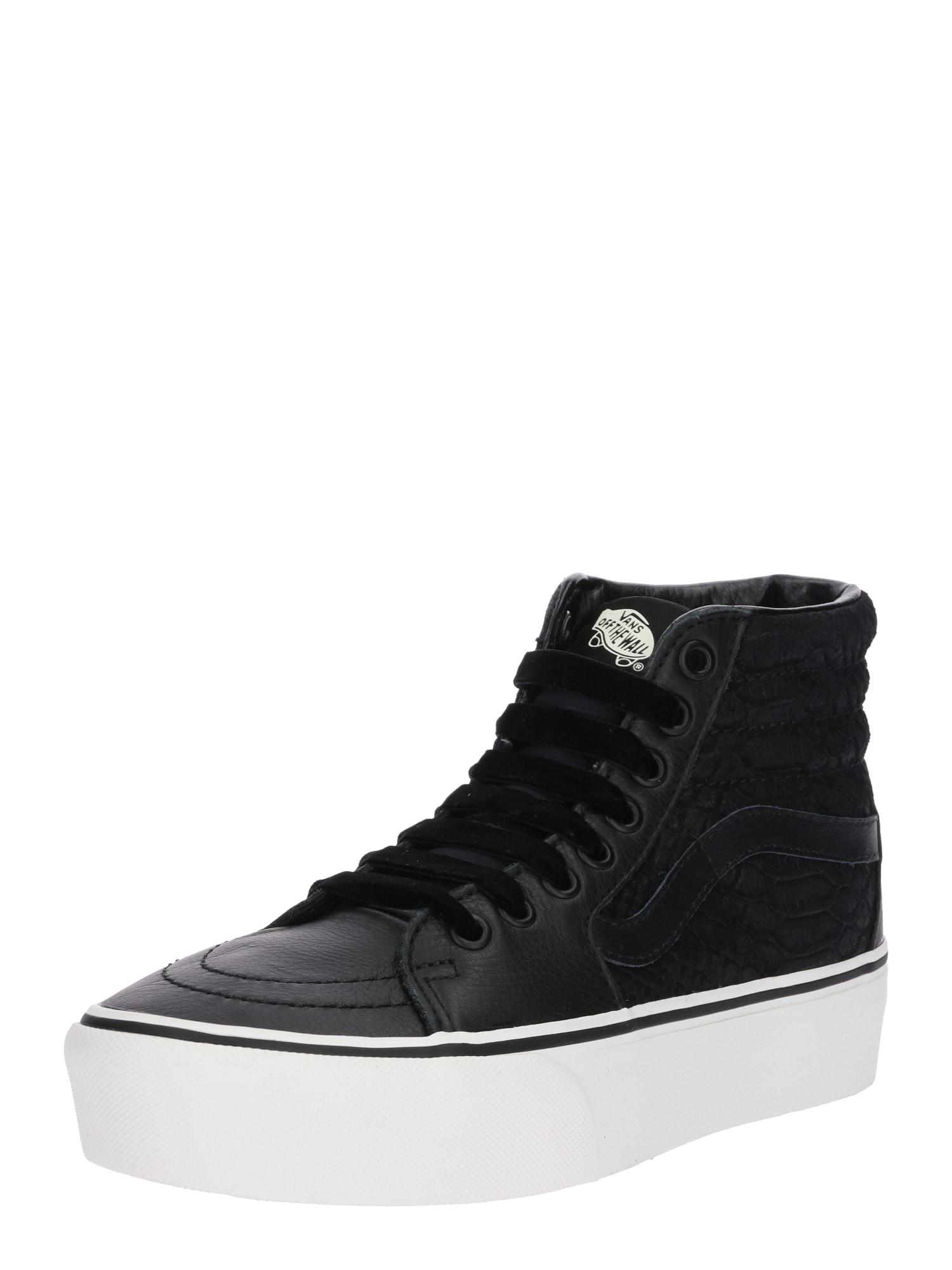 VANS, Dames Sneakers hoog 'SK8-HI PLATFORM 2.0', zwart / wit