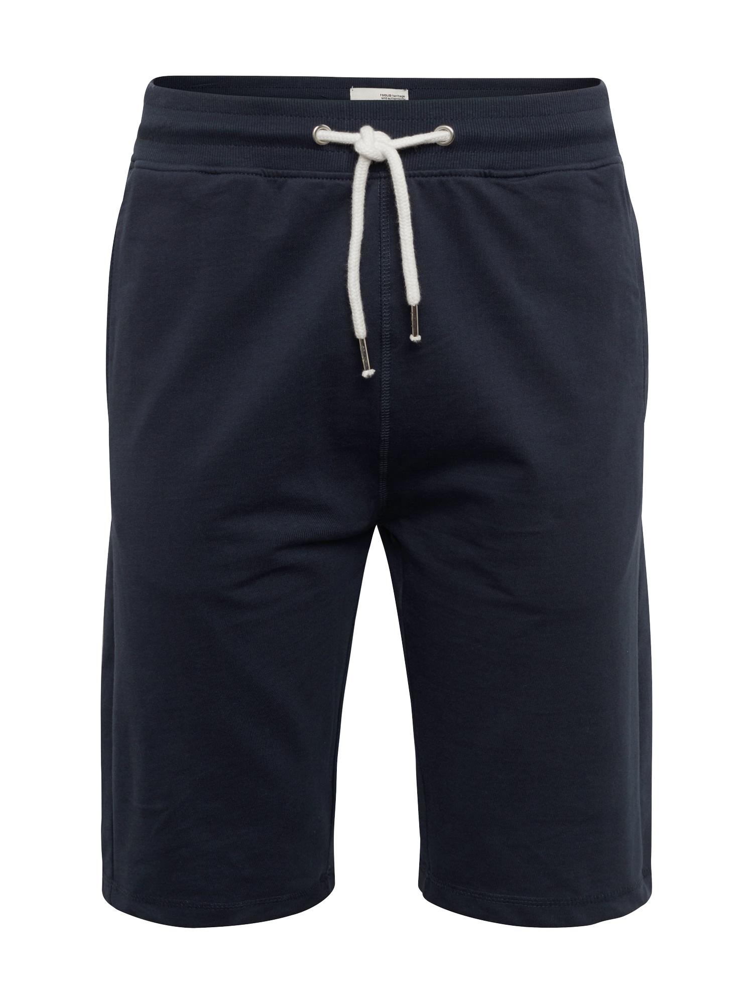 Kalhoty REGULAR-MORGAN tmavě modrá !Solid