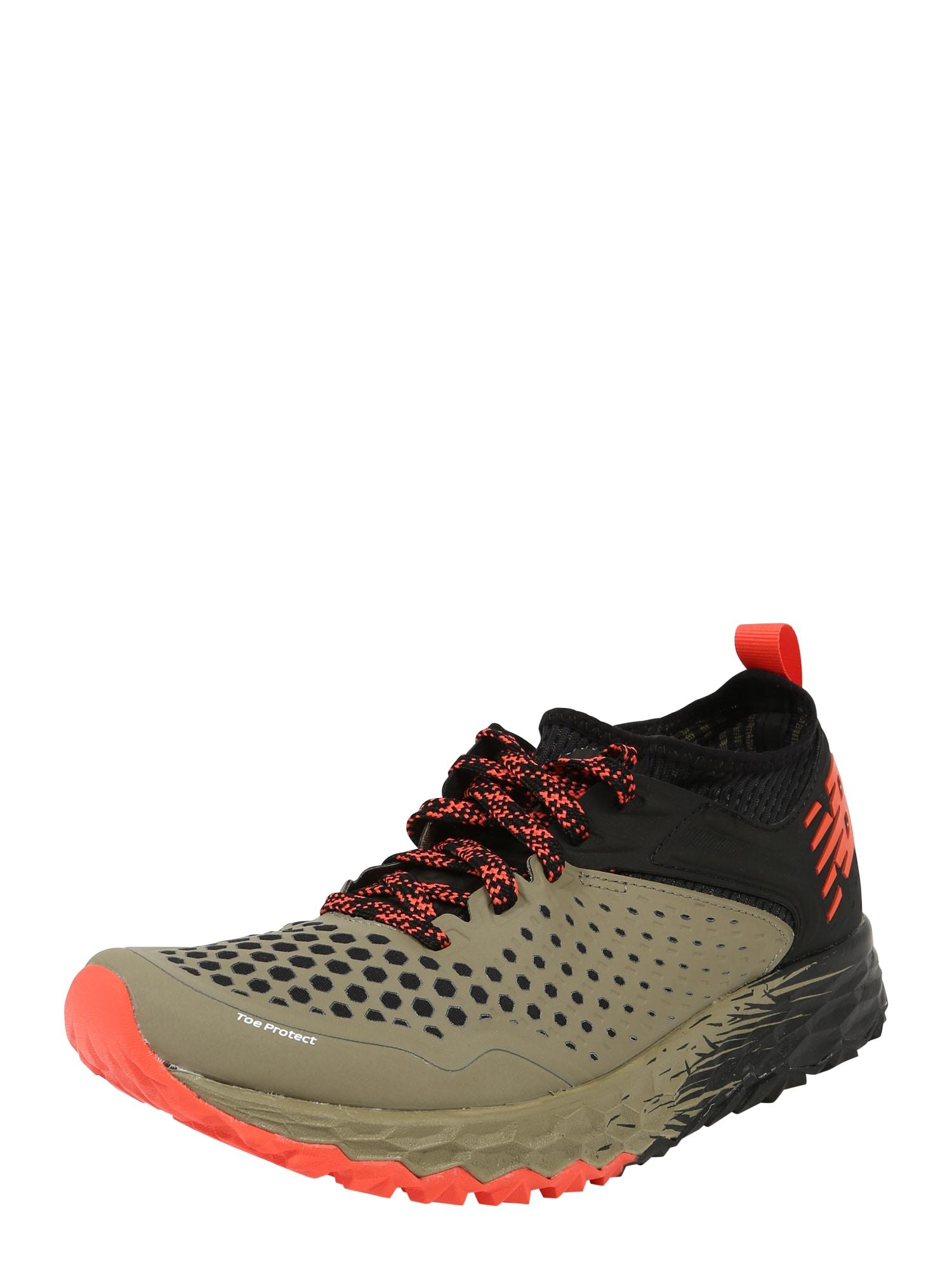 Sportovní boty Hierro v4 tmavě béžová černá New Balance