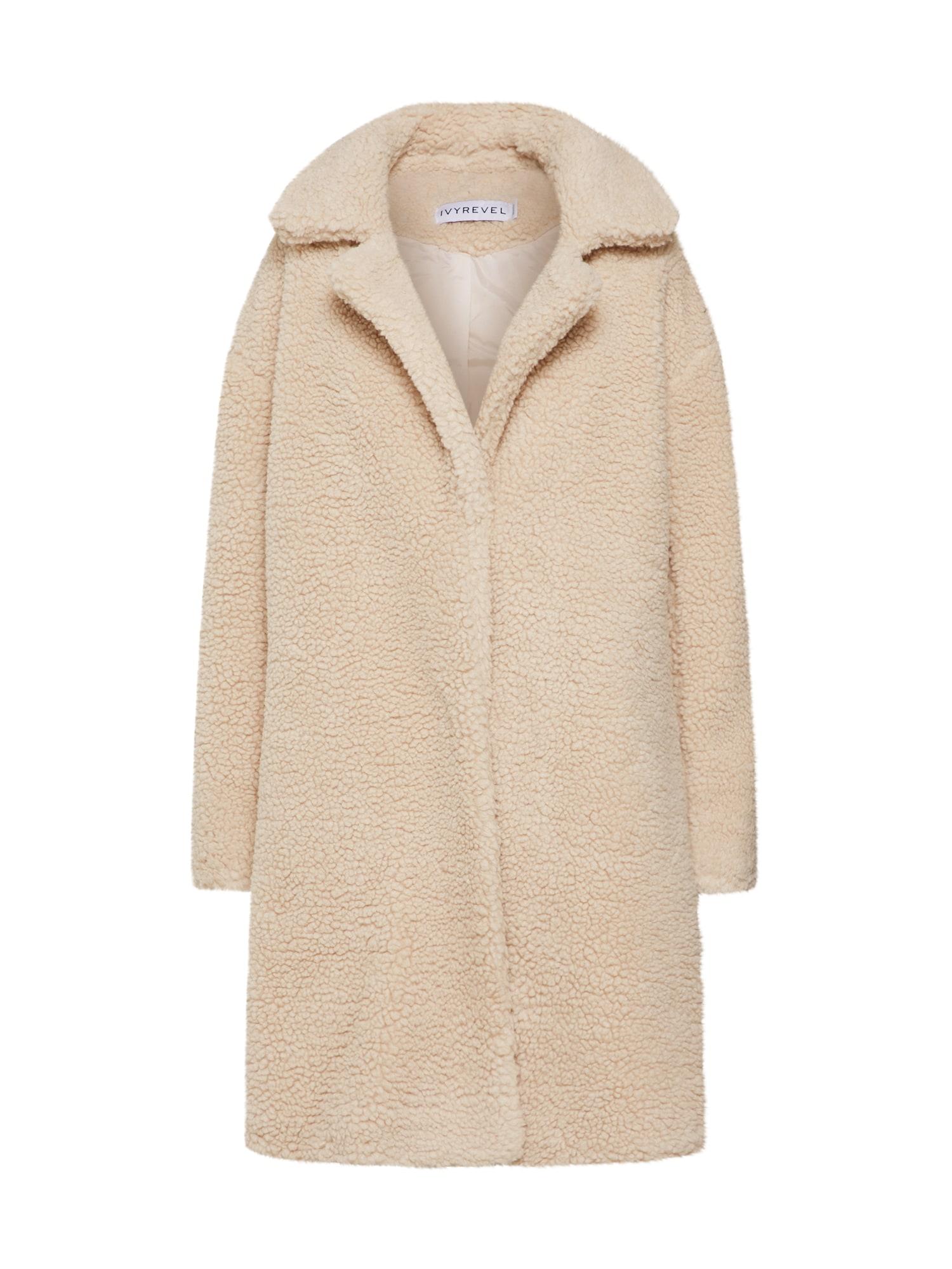 Zimní kabát CALIA béžová IVYREVEL