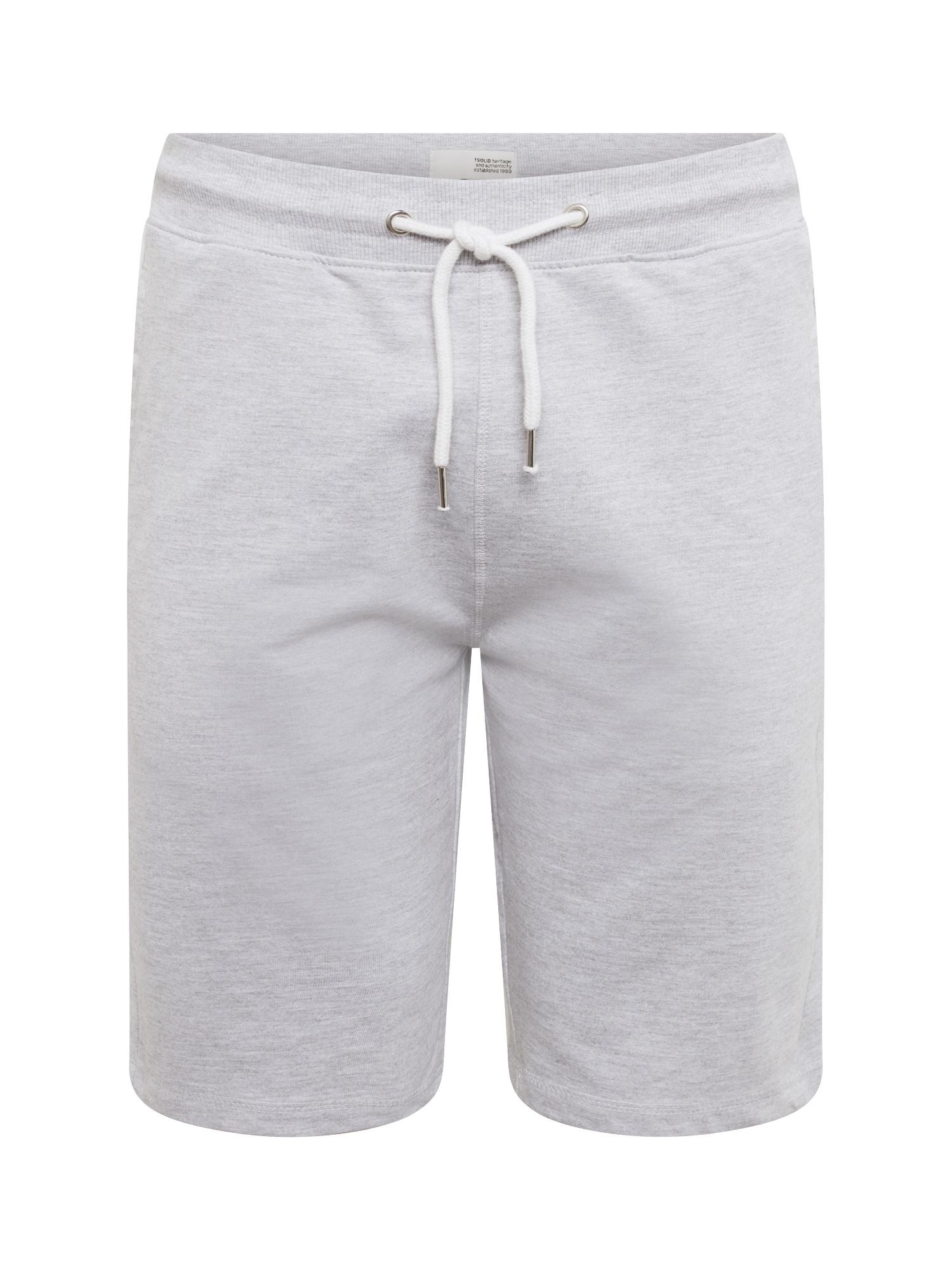 Kalhoty REGULAR-MORGAN světle šedá !Solid
