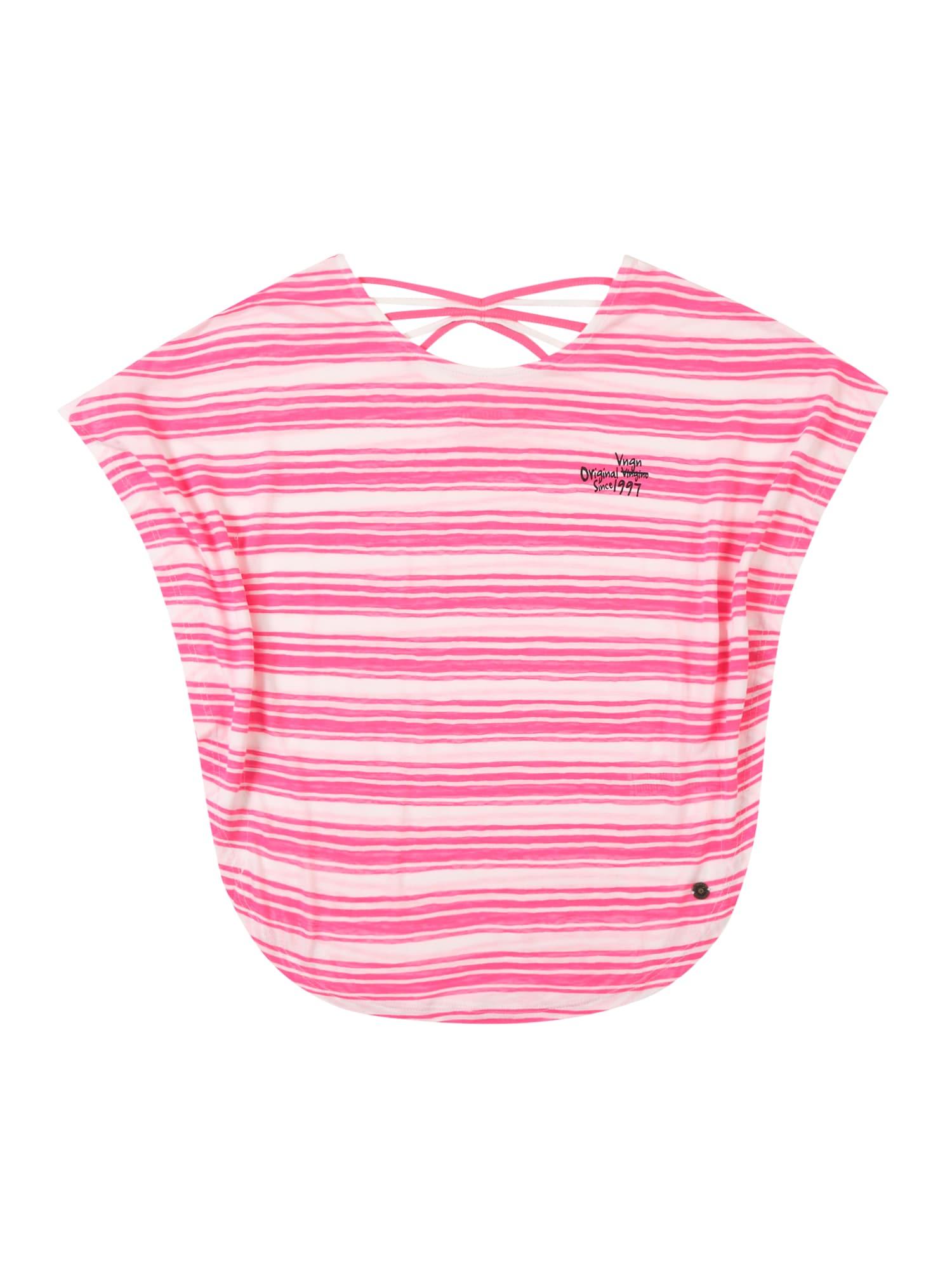 Tričko Ilonka světle šedá růžová VINGINO