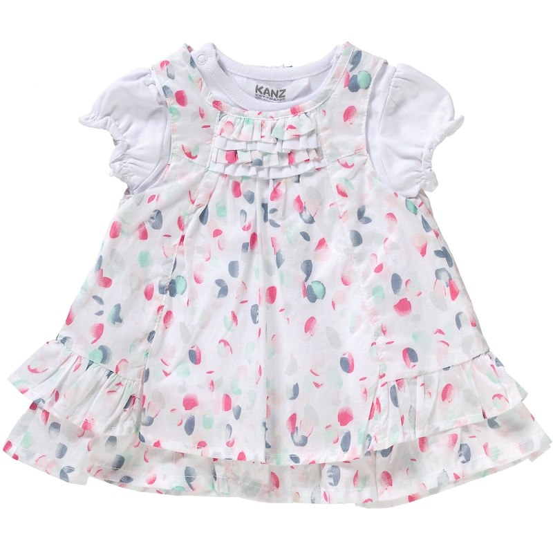 KANZ Baby Set Kleid mit T-Shirt Gr. 92 Mädchen Kleinkinder jetztbilligerkaufen