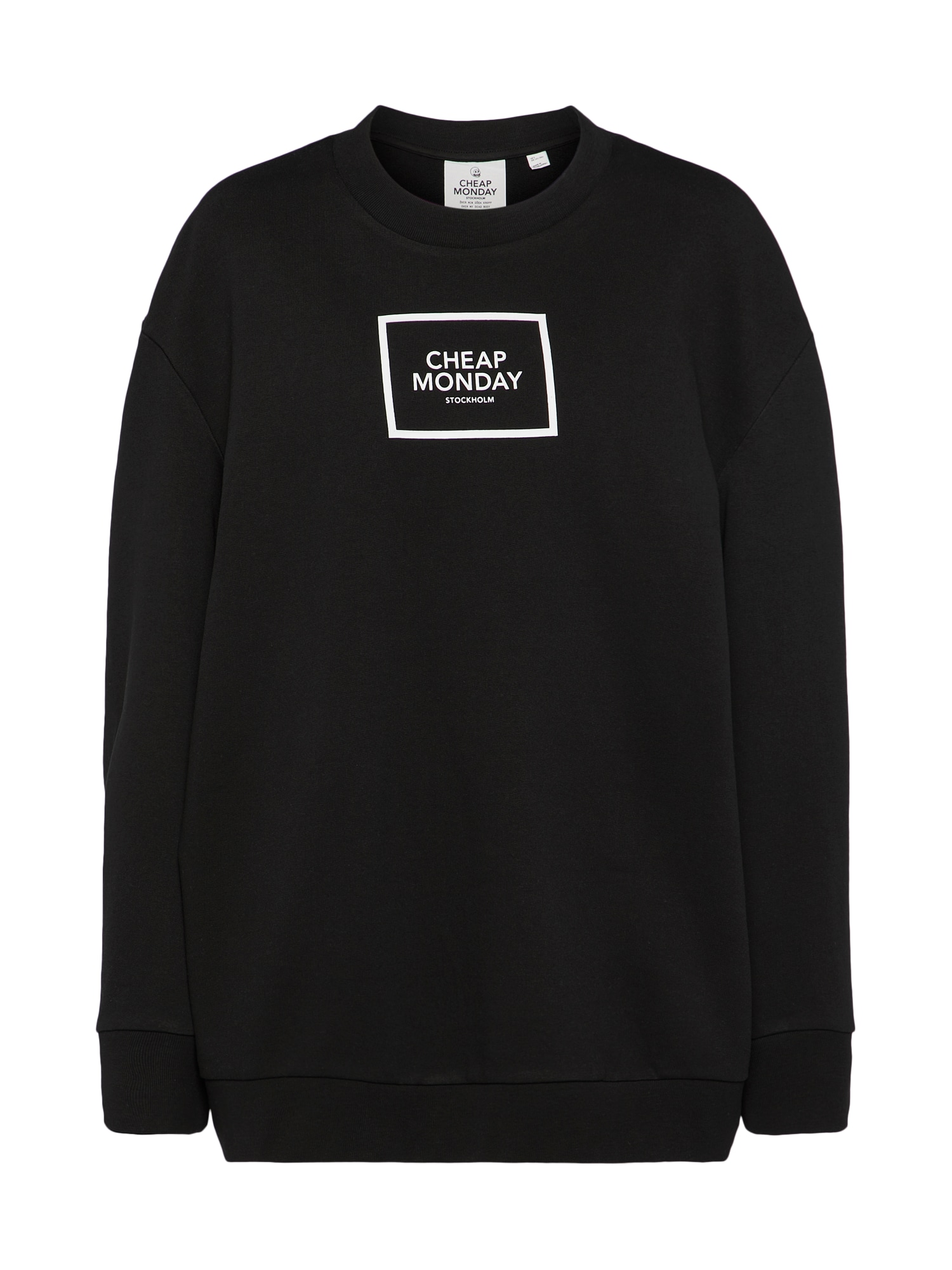CHEAP MONDAY Dames Sweatshirt zwart