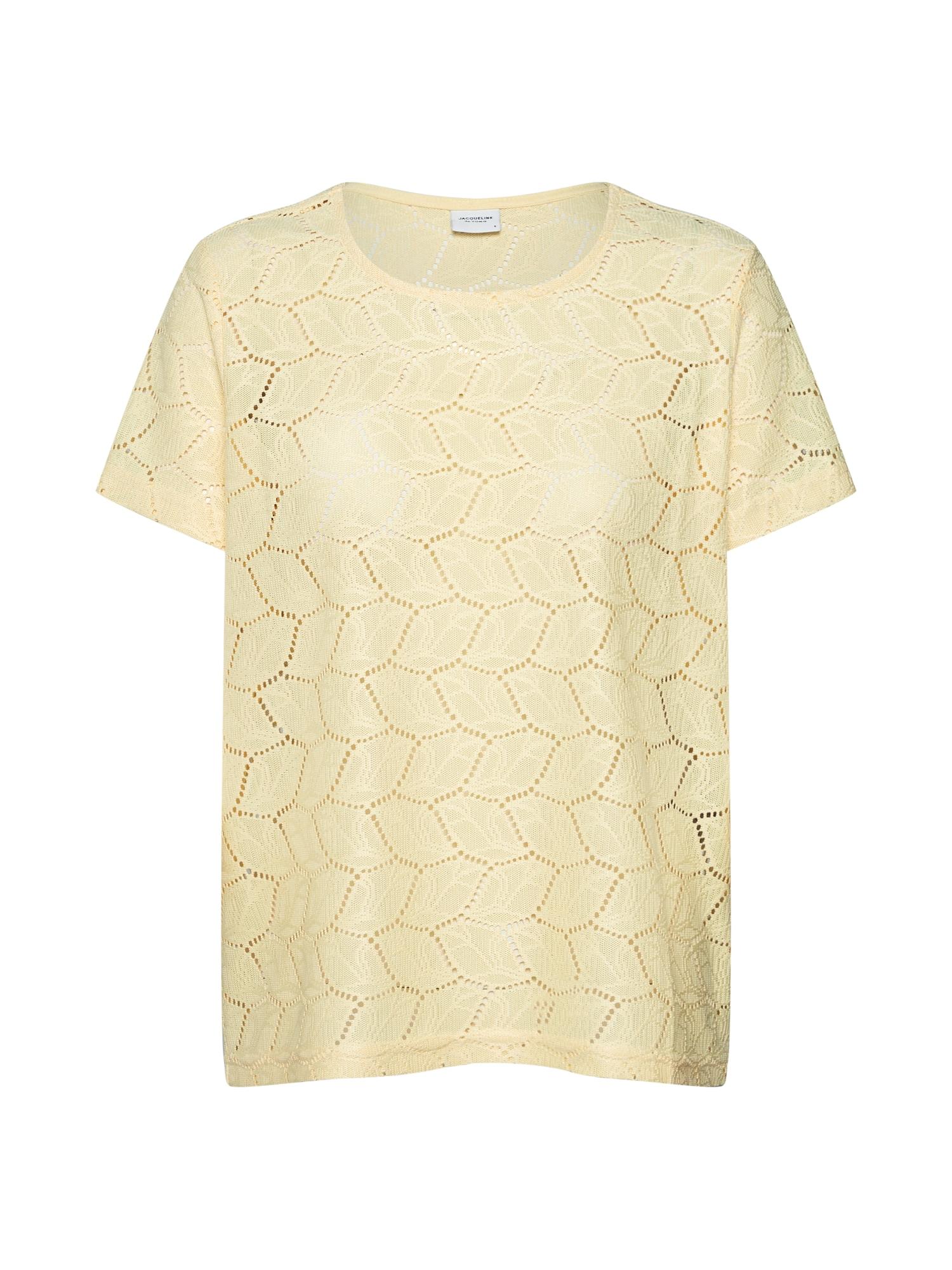 Tričko žlutá JACQUELINE De YONG