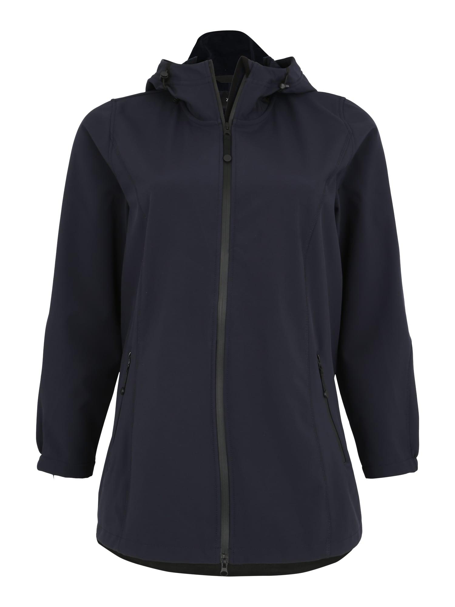 Sportovní bunda námořnická modř Zizzi