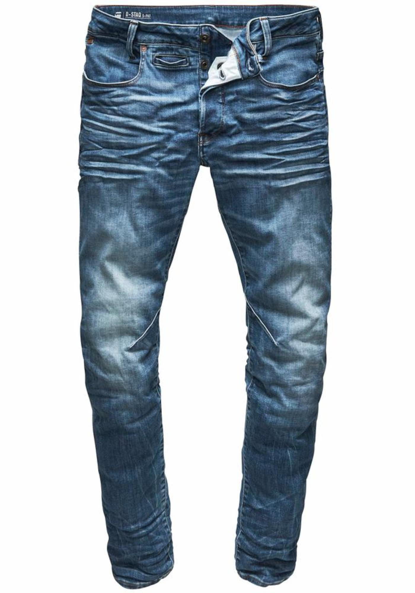 G-STAR RAW Heren Jeans D-Staq 3D Slim Fit blue denim