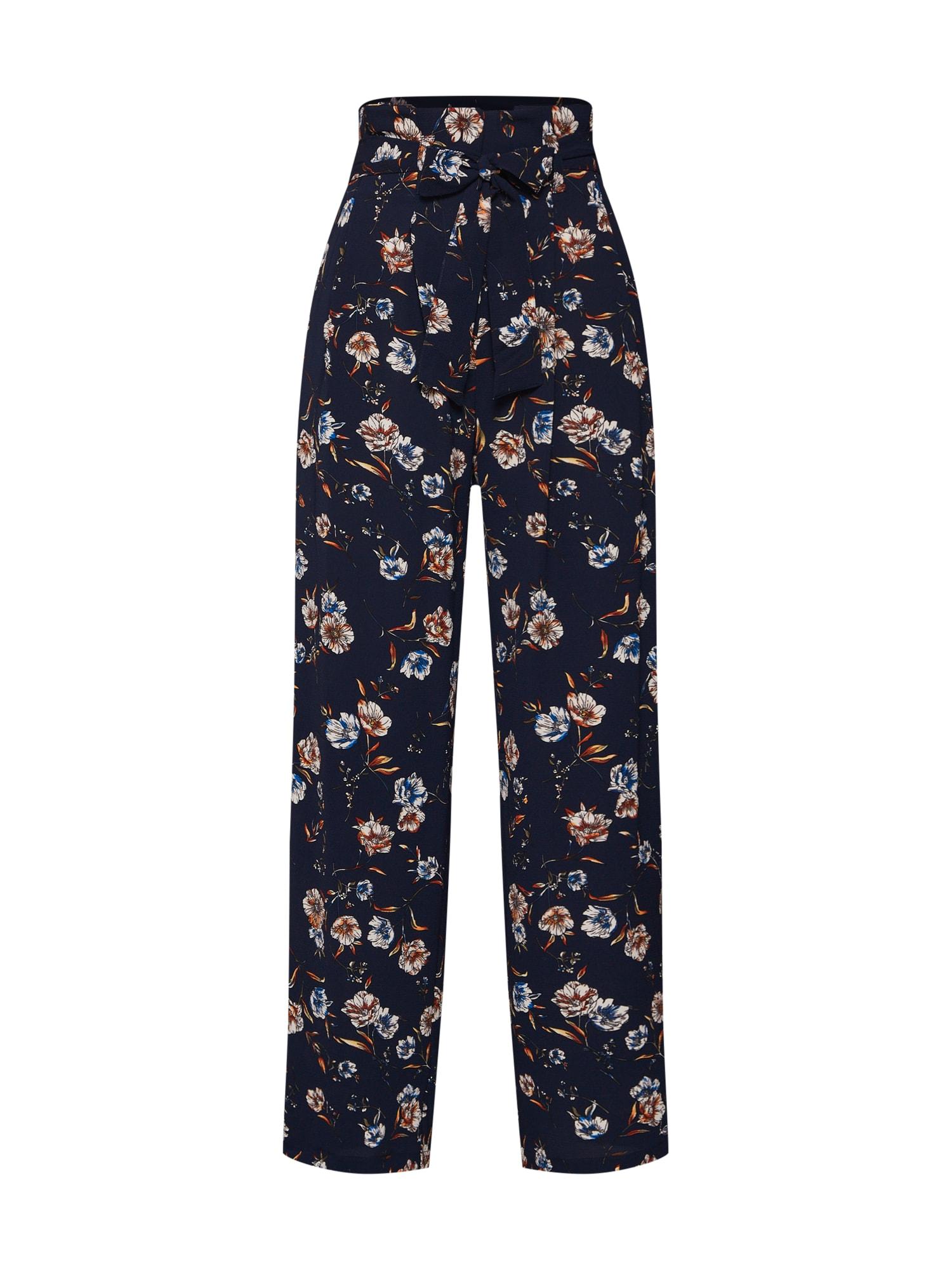 Kalhoty se sklady v pase ELVA nachtblau ONLY