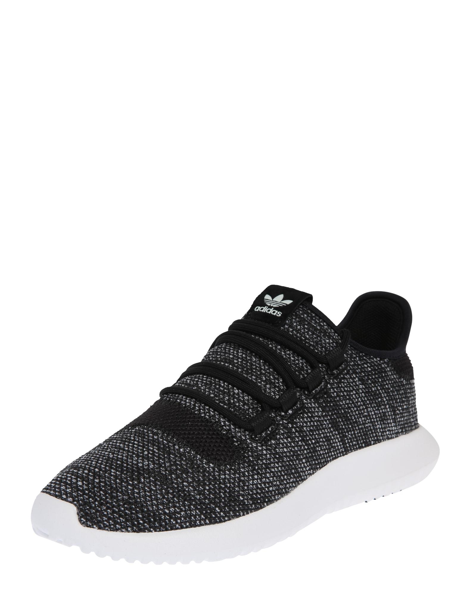 ADIDAS ORIGINALS, Heren Sneakers laag 'Tubular Shadow K', zwart / wit gemêleerd