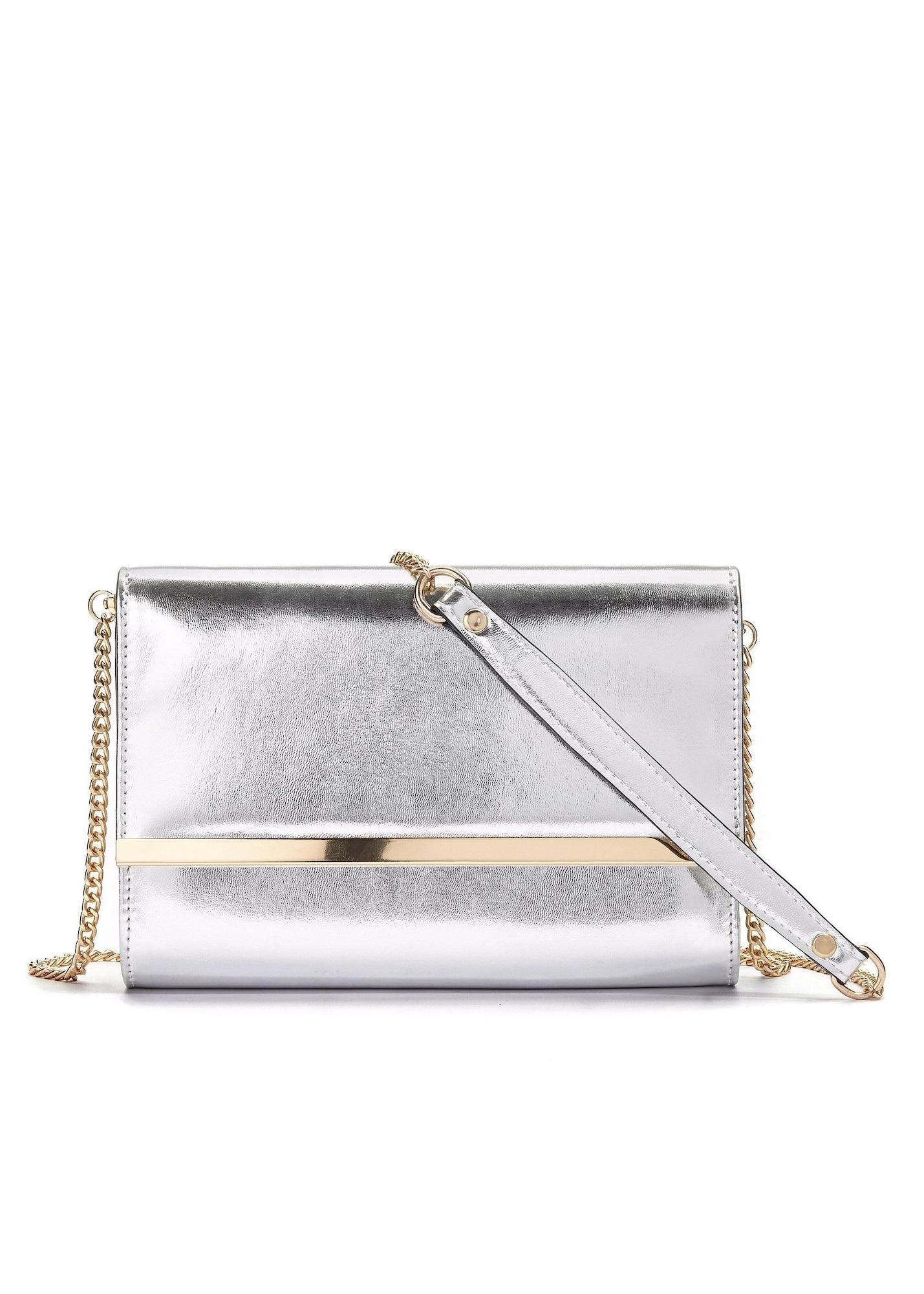 Abendtasche | Taschen > Handtaschen > Abendtaschen | Gold - Silber | Lascana