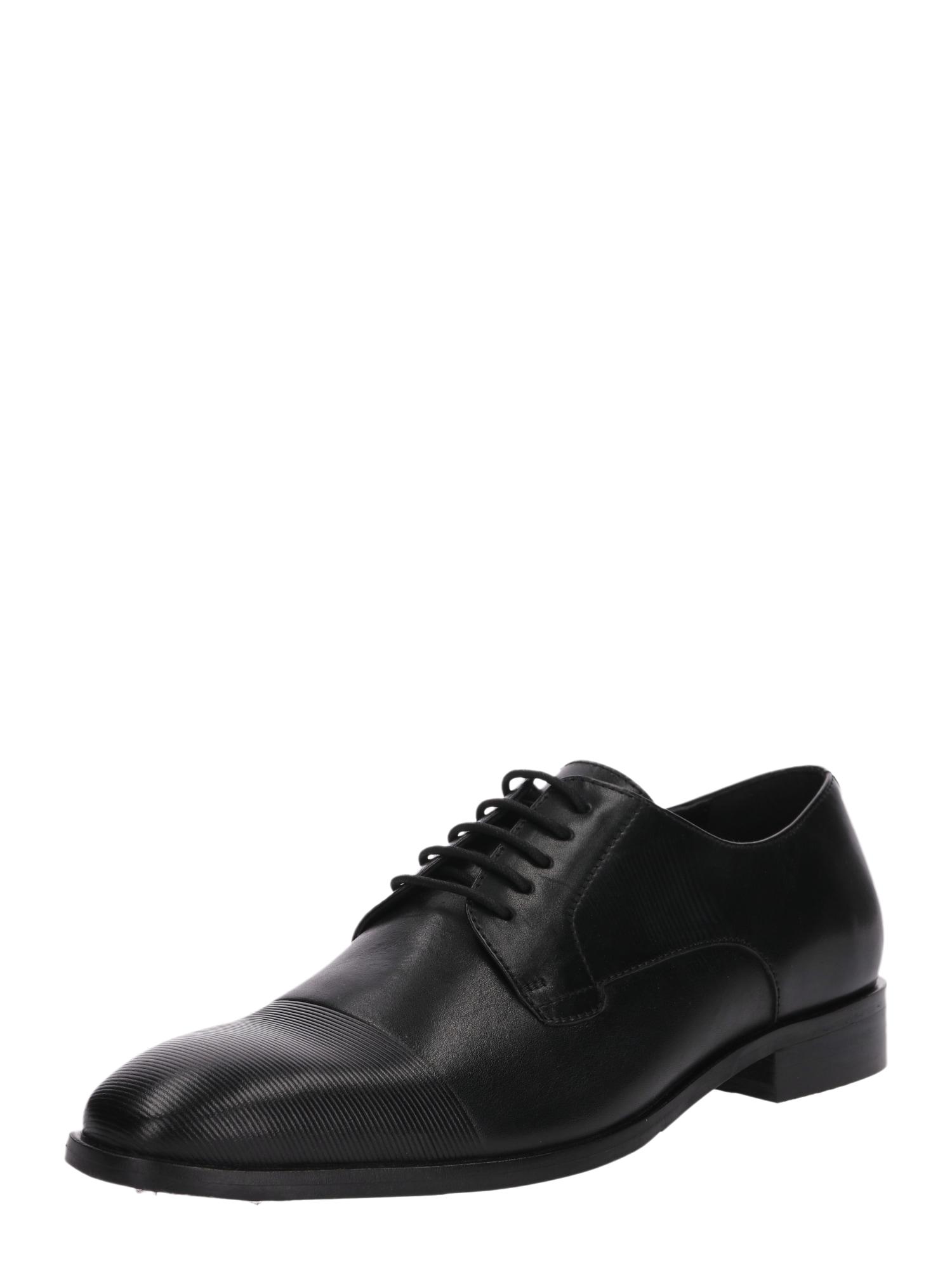 Šněrovací boty Magnus černá ABOUT YOU