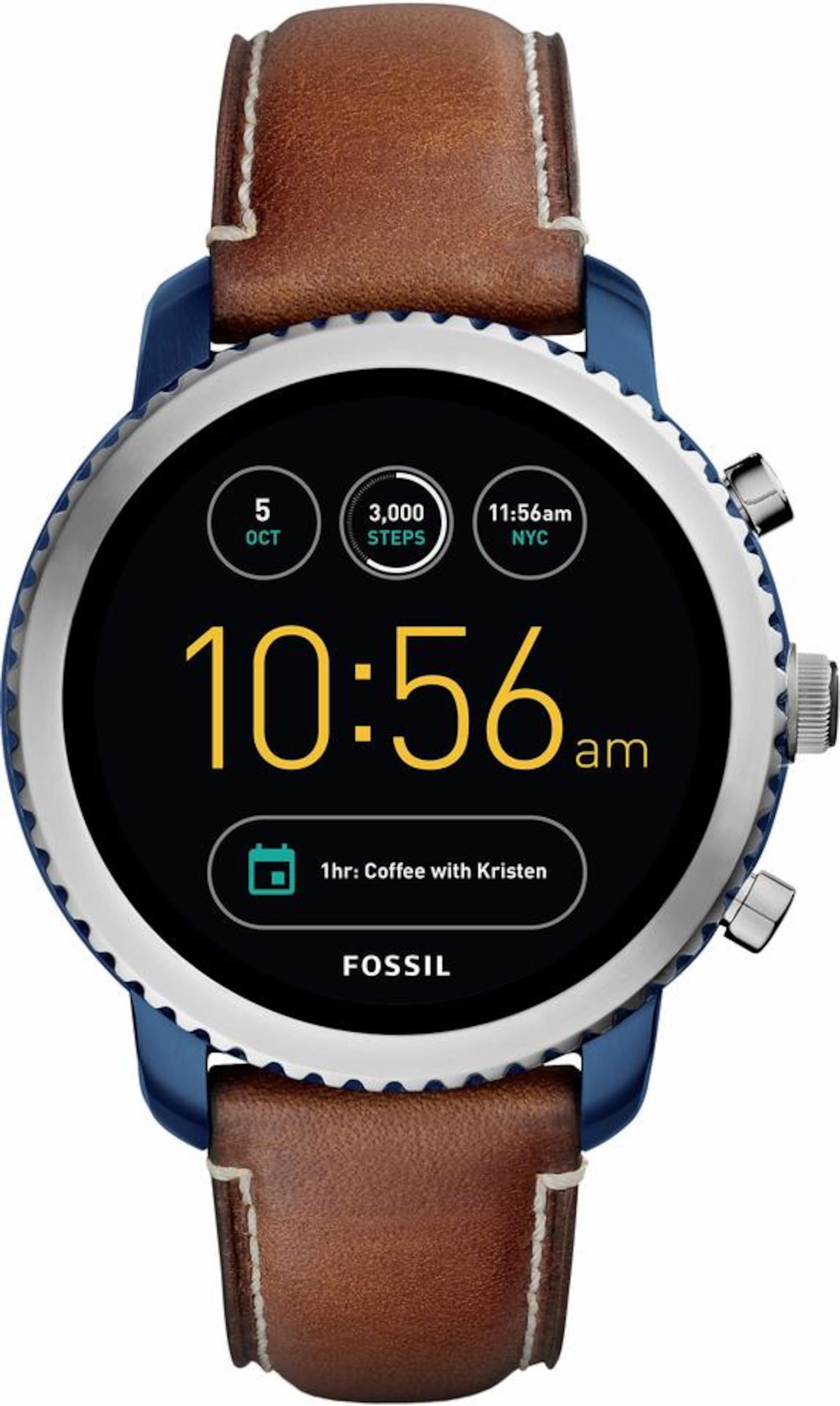 Q EXPLORIST, FTW4004 Smartwatch (Android Wear)