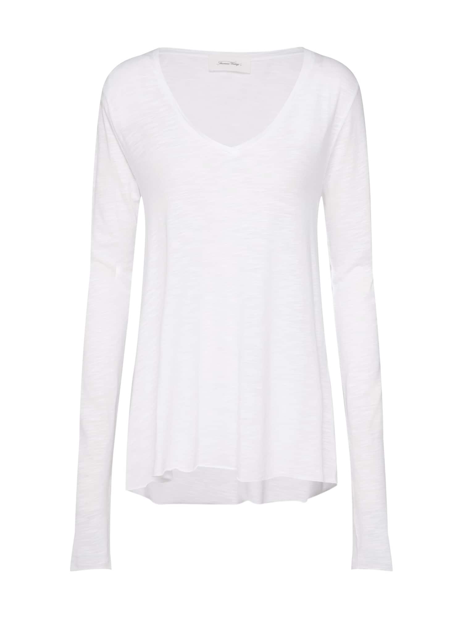 Tričko bílá AMERICAN VINTAGE