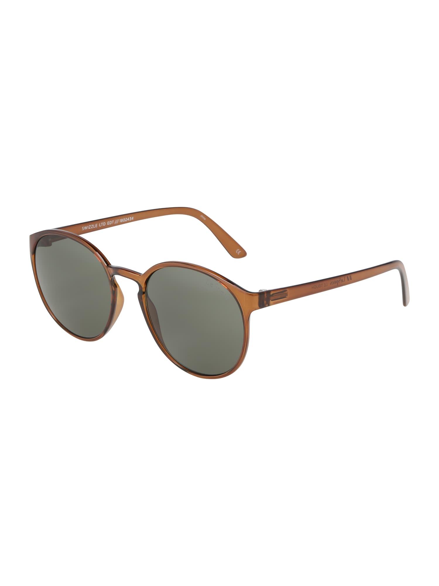 Sluneční brýle Swizzle hnědá khaki LE SPECS