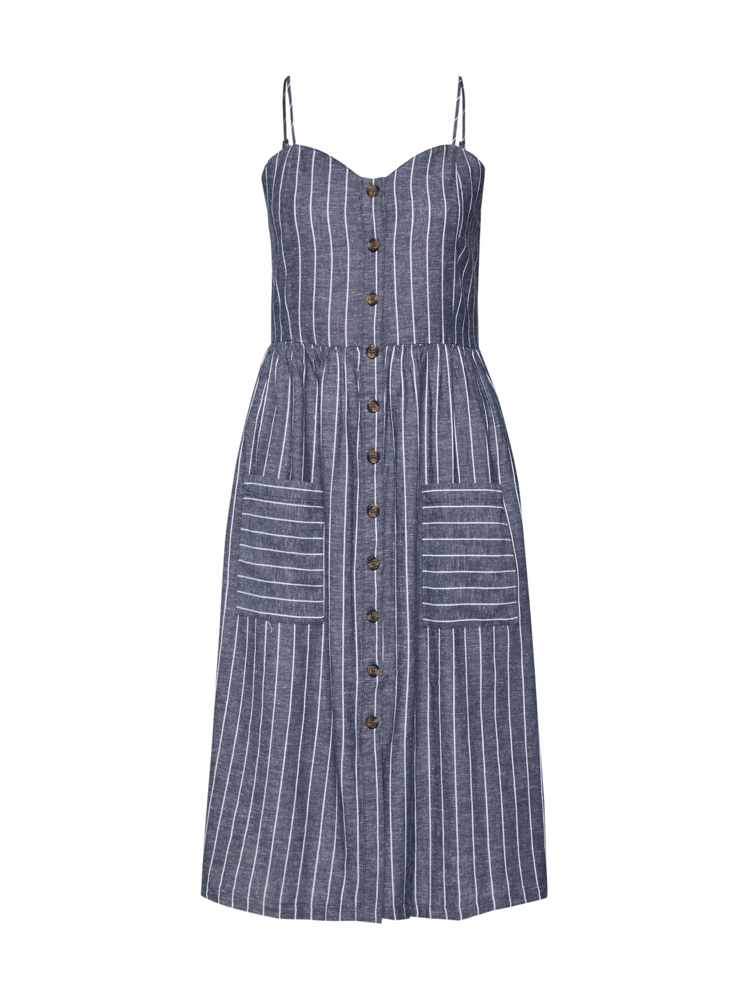 Letní šaty LULU námořnická modř bílá JACQUELINE De YONG